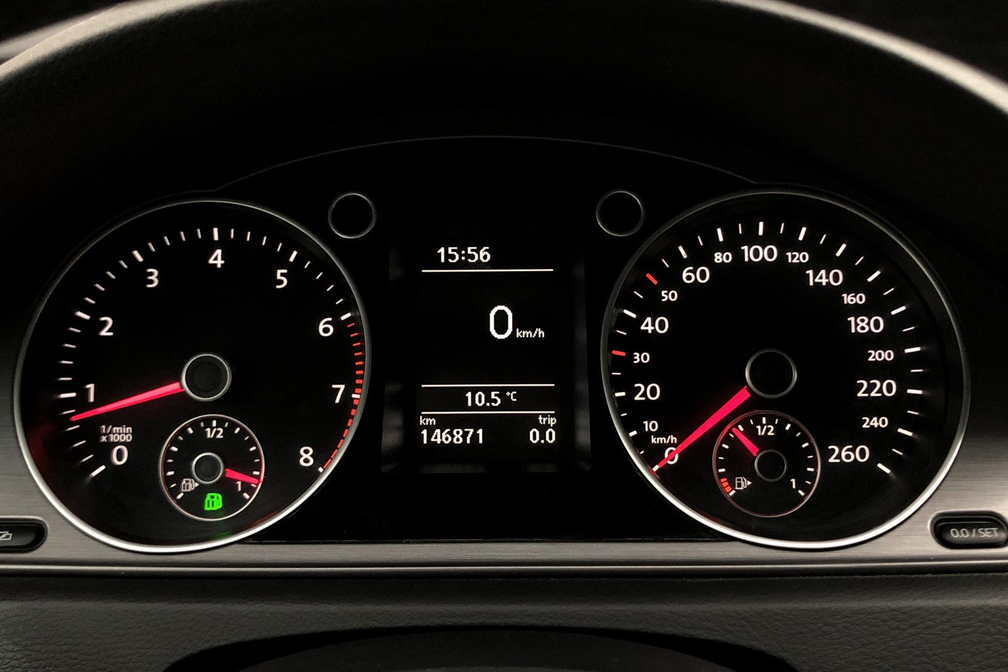 VW Passat 1.4 TSI EcoFuel Variant (150hk) - 146 000 km - Manual - white - 2011