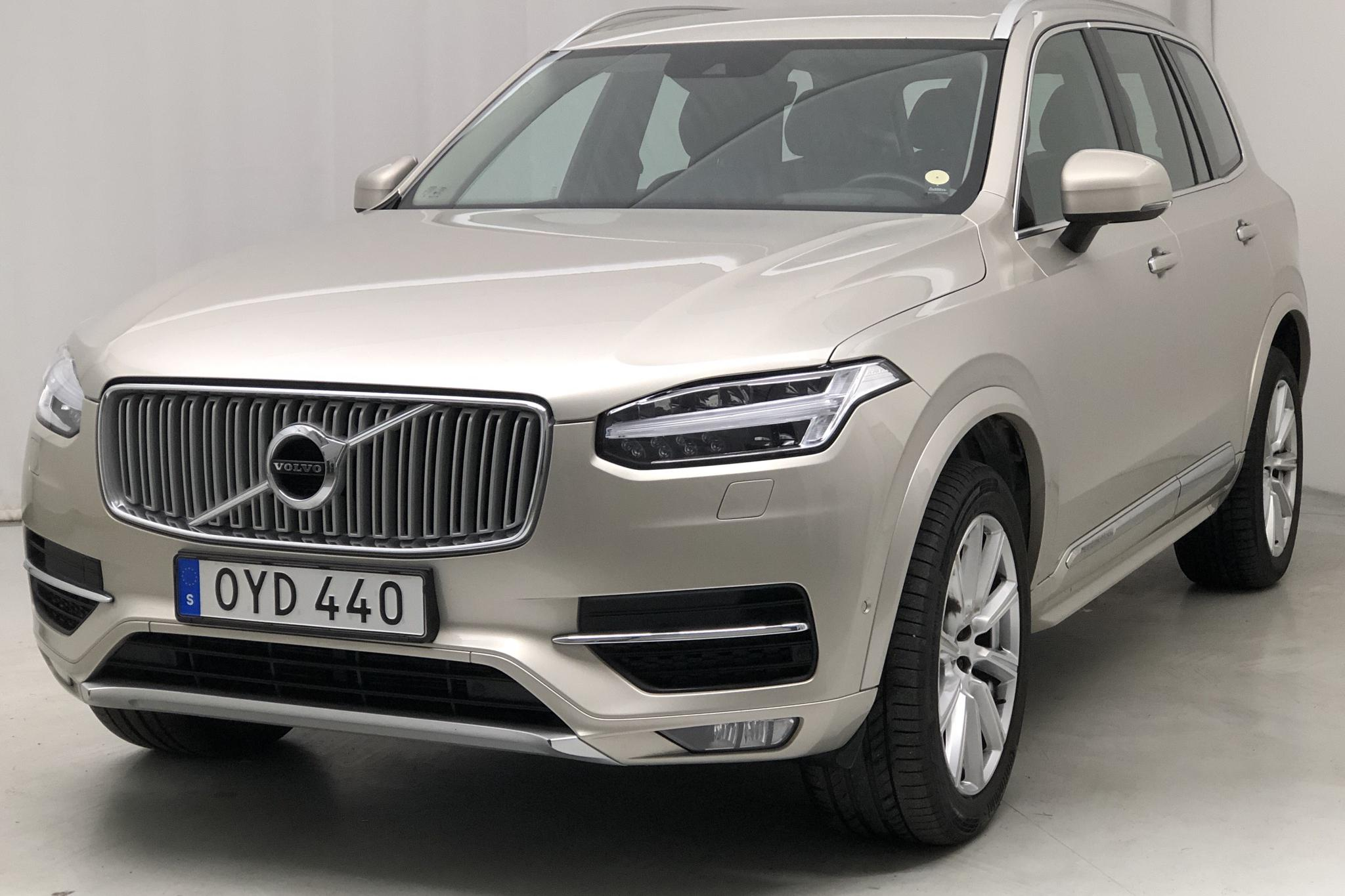 Volvo XC90 D5 AWD (225hk) - 116 560 km - Automatic - Light Brown - 2016