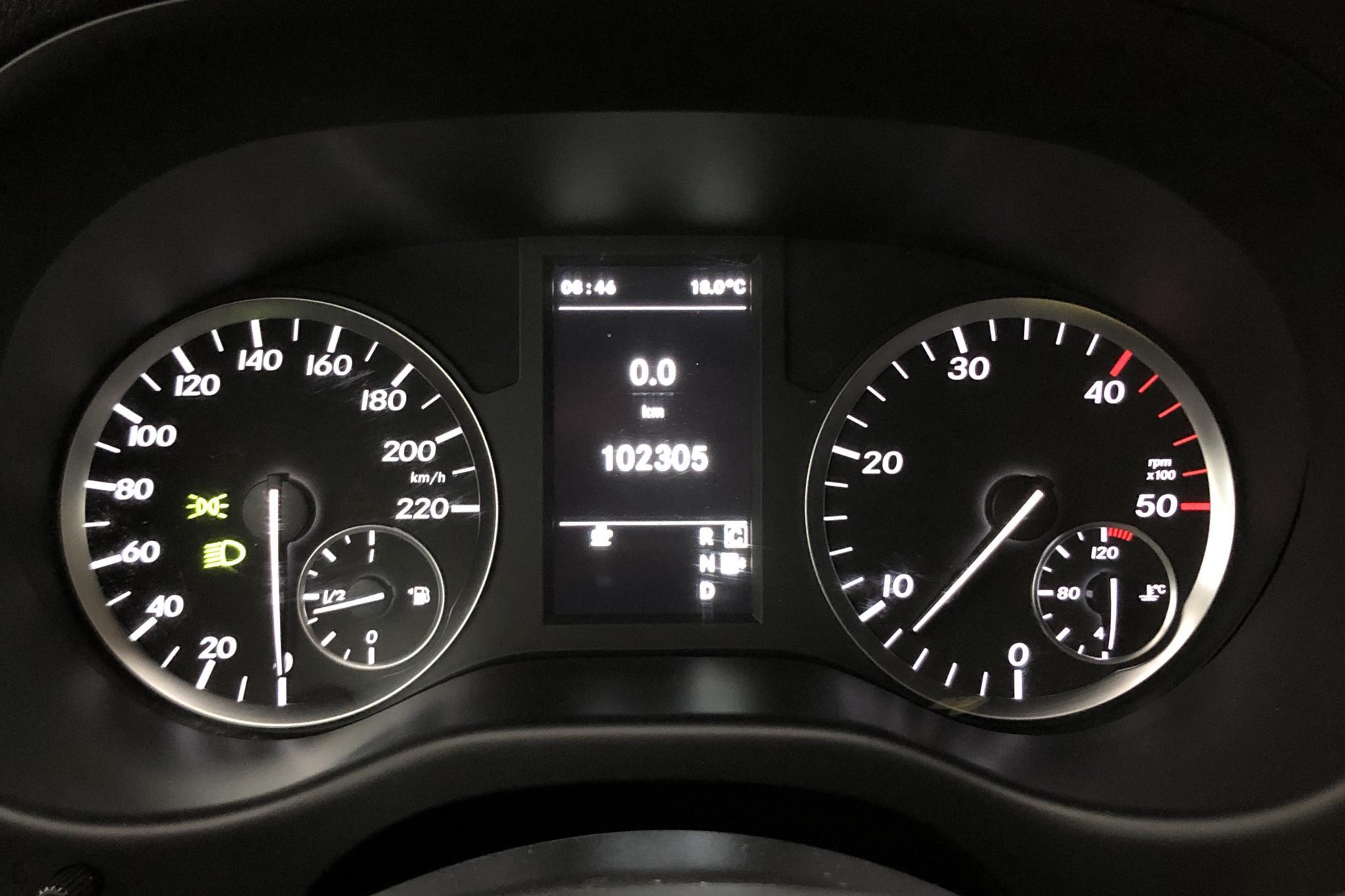 Mercedes Vito 116 CDI W640 (163hk) - 0 km - silver - 2017
