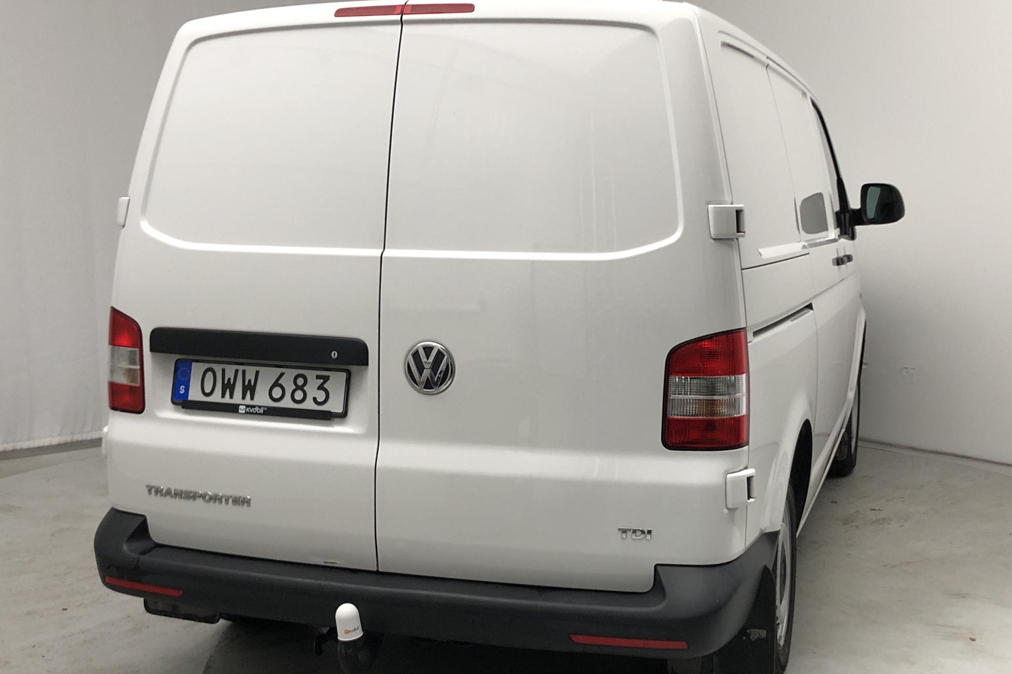 VW Transporter T5 2.0 TDI (102hk) - 0 km - Manual - white - 2015