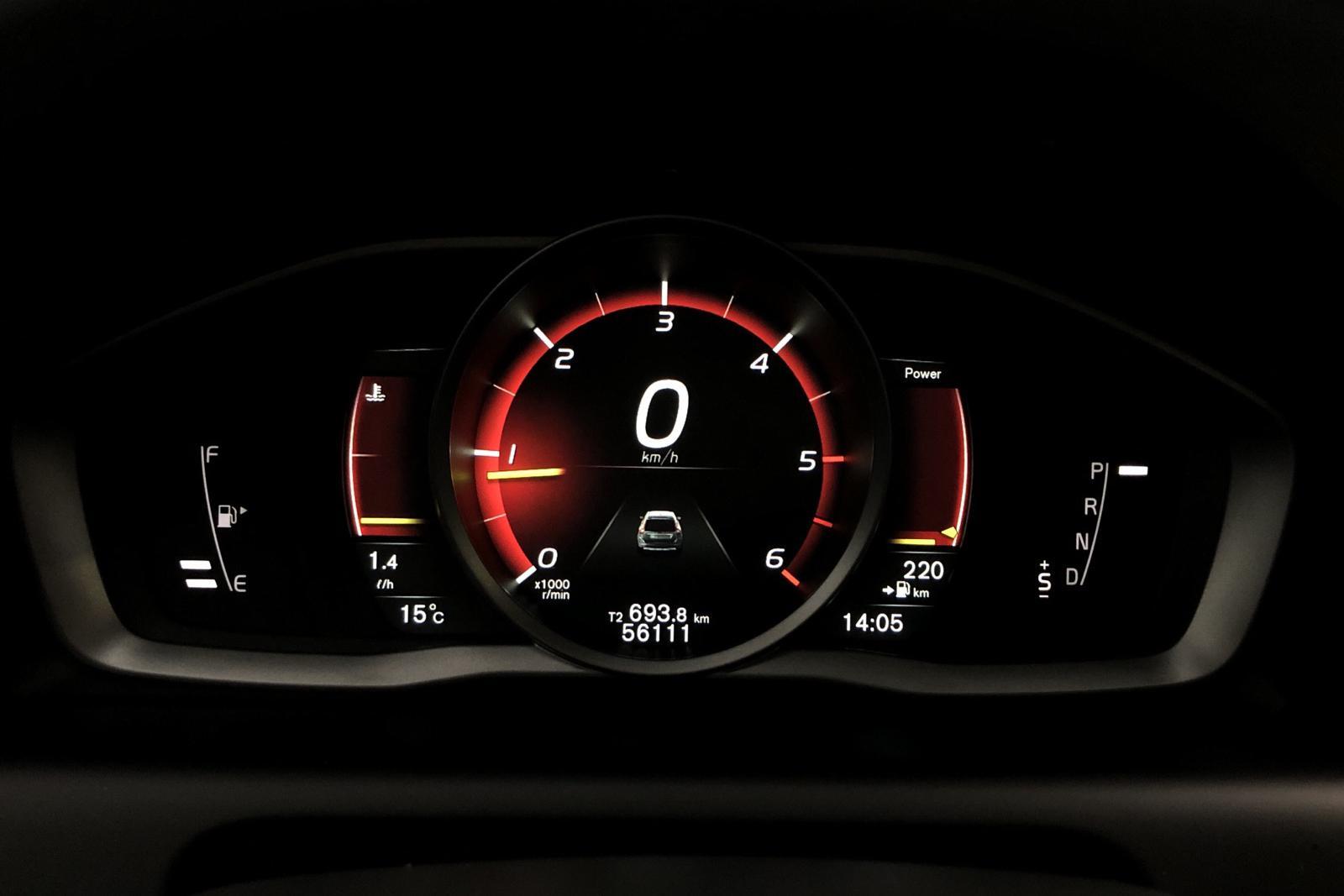 Volvo XC60 D4 2WD (190hk) - 56 500 km - Automatic - gray - 2017