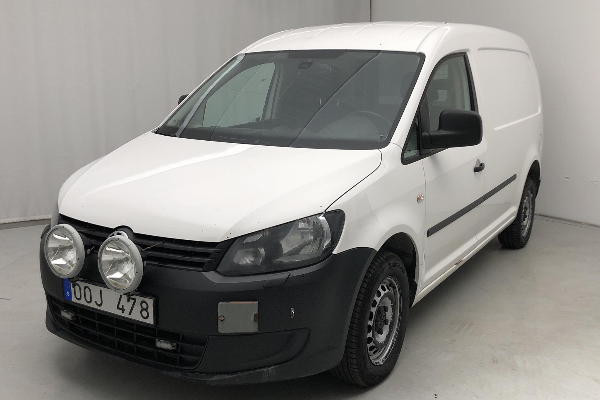 VW Caddy 2.0 TDI Maxi Skåp 4-motion (110hk) - 0 km - Manual - white - 2014