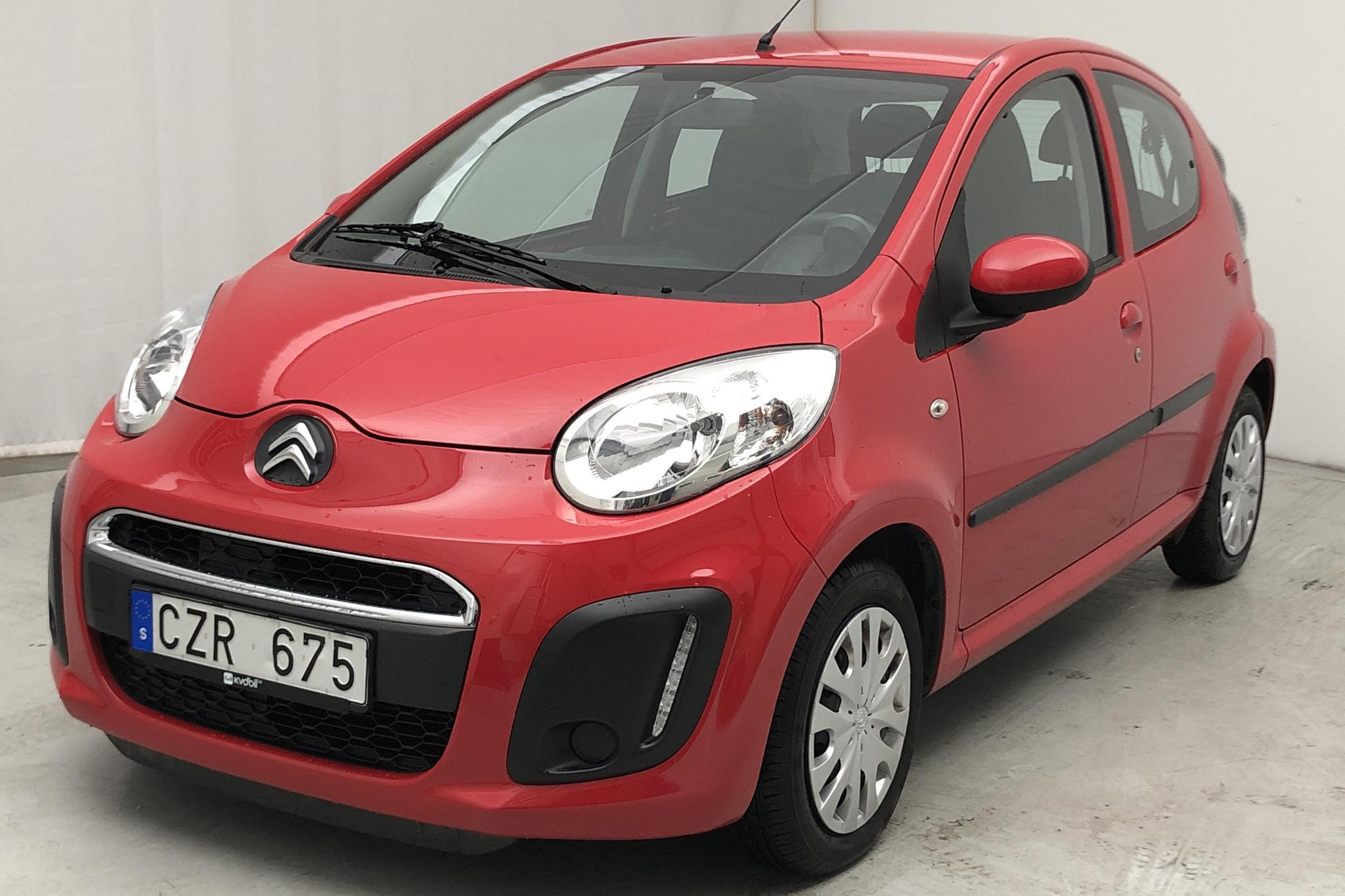 Citroen C1 1.0 5dr (68hk) - 29 807 km - Manual - red - 2013
