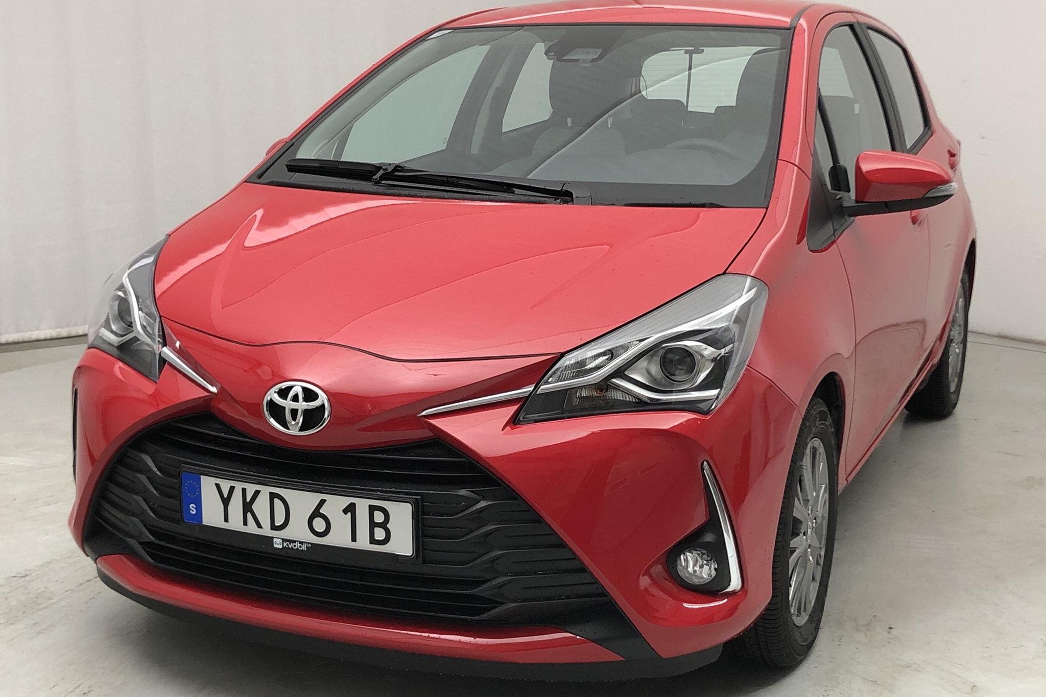 Toyota Yaris 1.5 5dr (111hk) - 700 km - Automatic - red - 2020