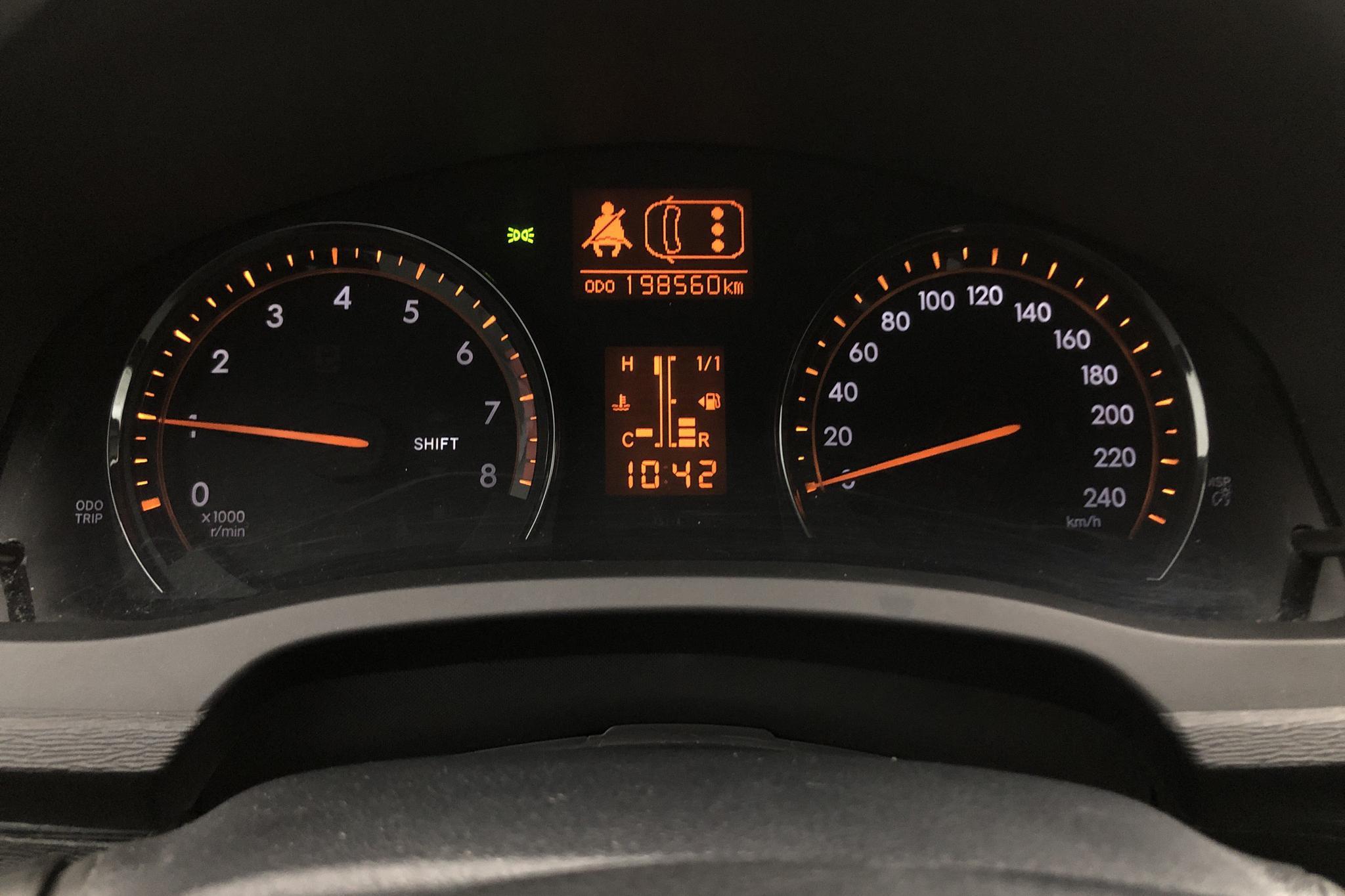 Toyota Avensis 2.0 Kombi (152hk) - 198 500 km - Manual - Dark Grey - 2009