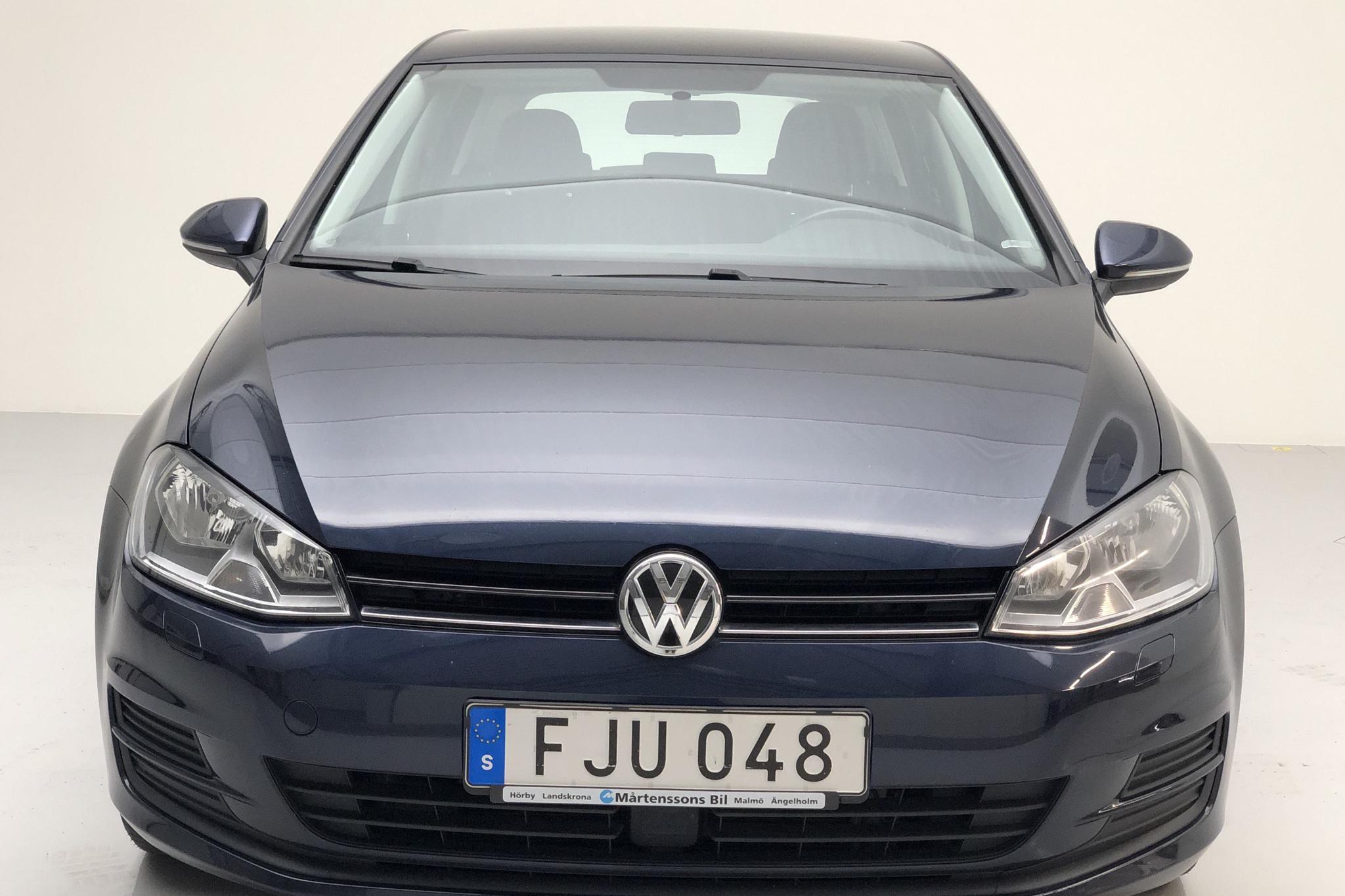 VW Golf VII 1.6 TDI BlueMotion Technology 5dr (105hk) - 8 500 mil - Manuell - Dark Blue - 2014