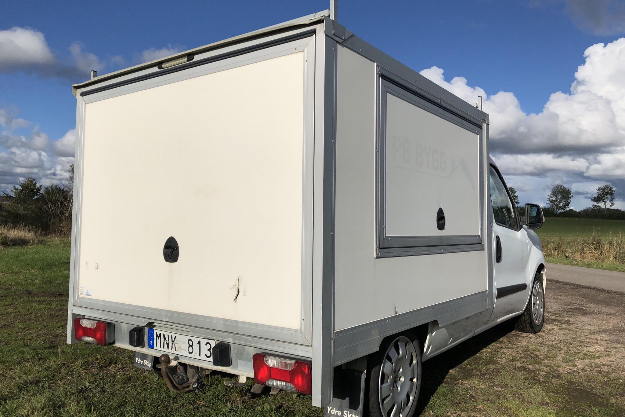 Fiat Doblo Cargo 1.3 Multijet (90hk) - 0 mil - Manuell - vit - 2012