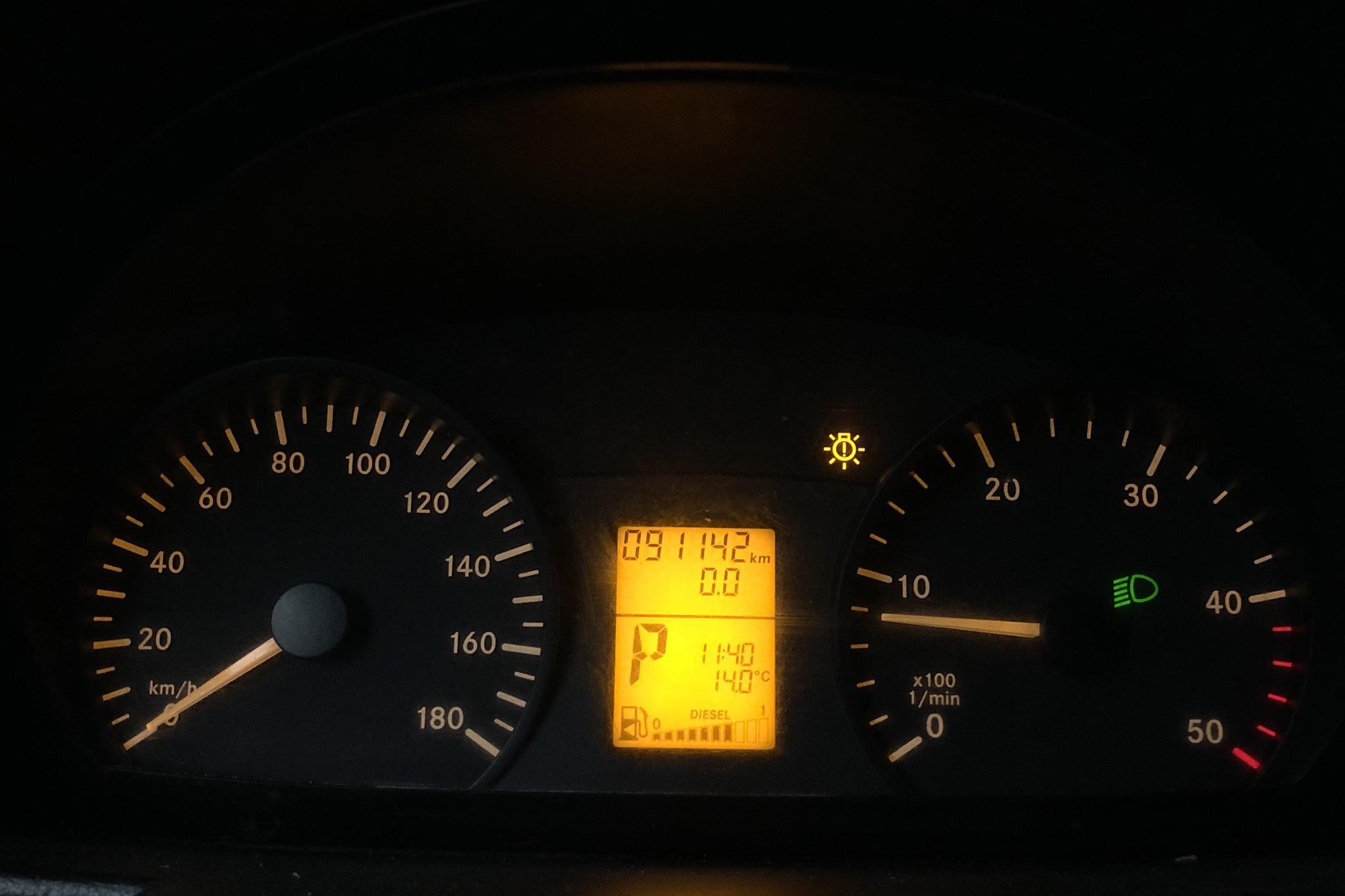 Mercedes Sprinter 316 CDI Kranbil (163hk) - 0 km - Automatic - Multicolored - 2013