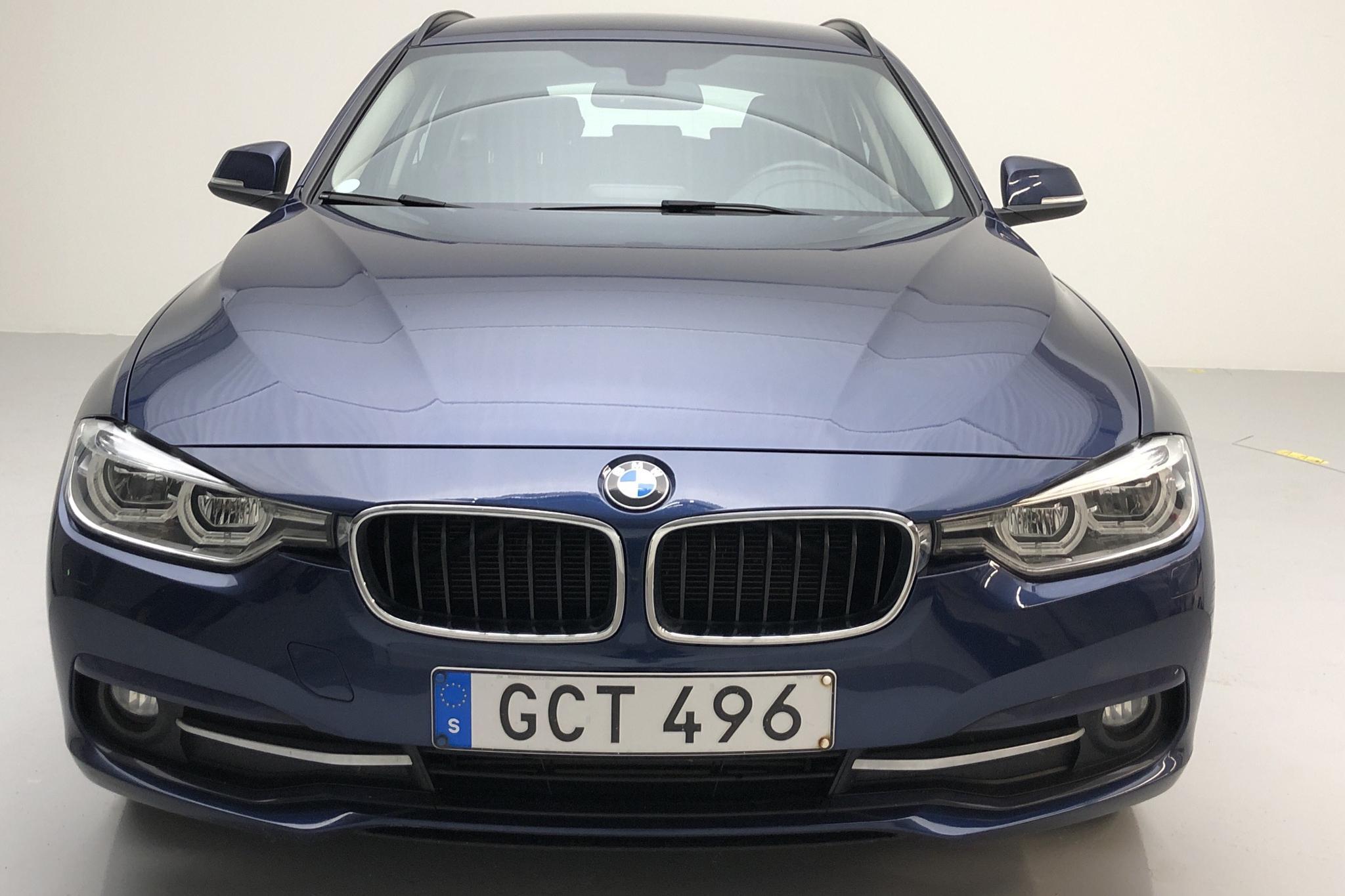 BMW 320d xDrive Touring, F31 (190hk) - 7 600 mil - Automat - blå - 2016