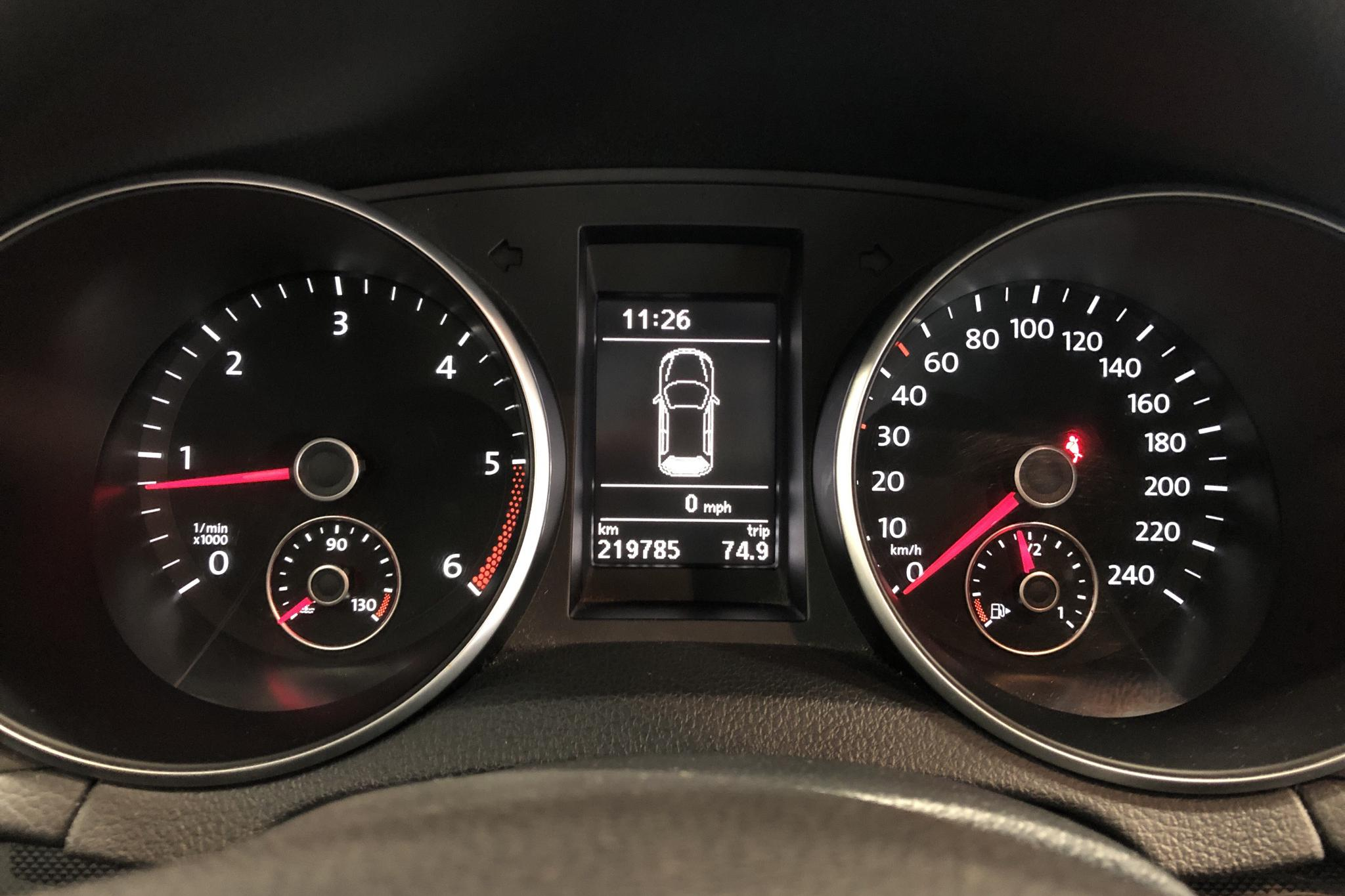 VW Golf VI 1.6 TDI Variant 4motion (105hk) - 0 km - Manual - Dark Grey - 2013