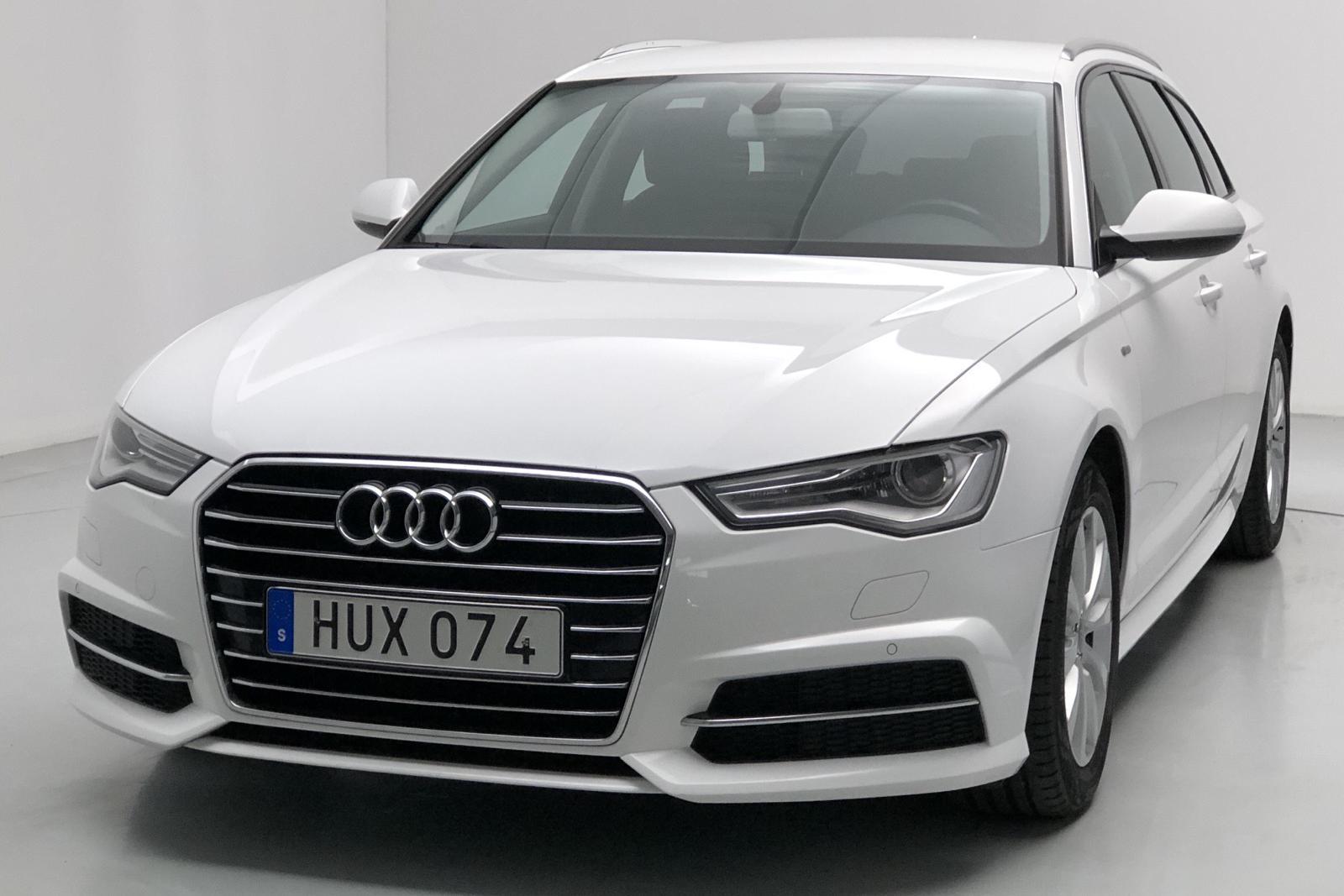 Audi A6 2.0 TDI Avant (190hk) - 84 000 km - Manual - white - 2016
