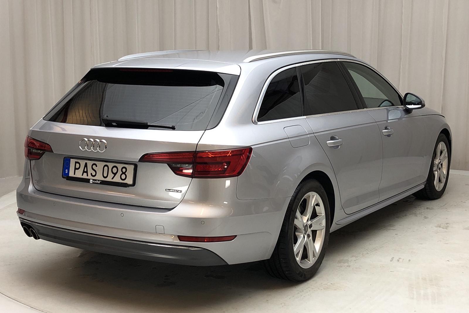 Audi A4 2.0 TDI Avant quattro (190hk) - 7 458 mil - Automat - silver - 2017
