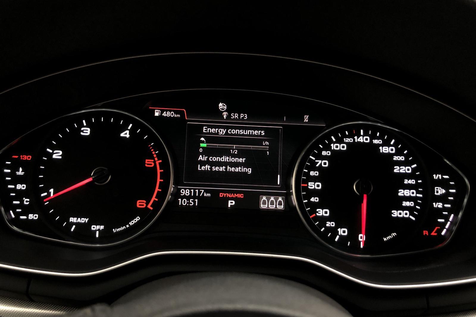 Audi A4 2.0 TDI Avant quattro (190hk) - 74 579 km - Automatic - silver - 2017