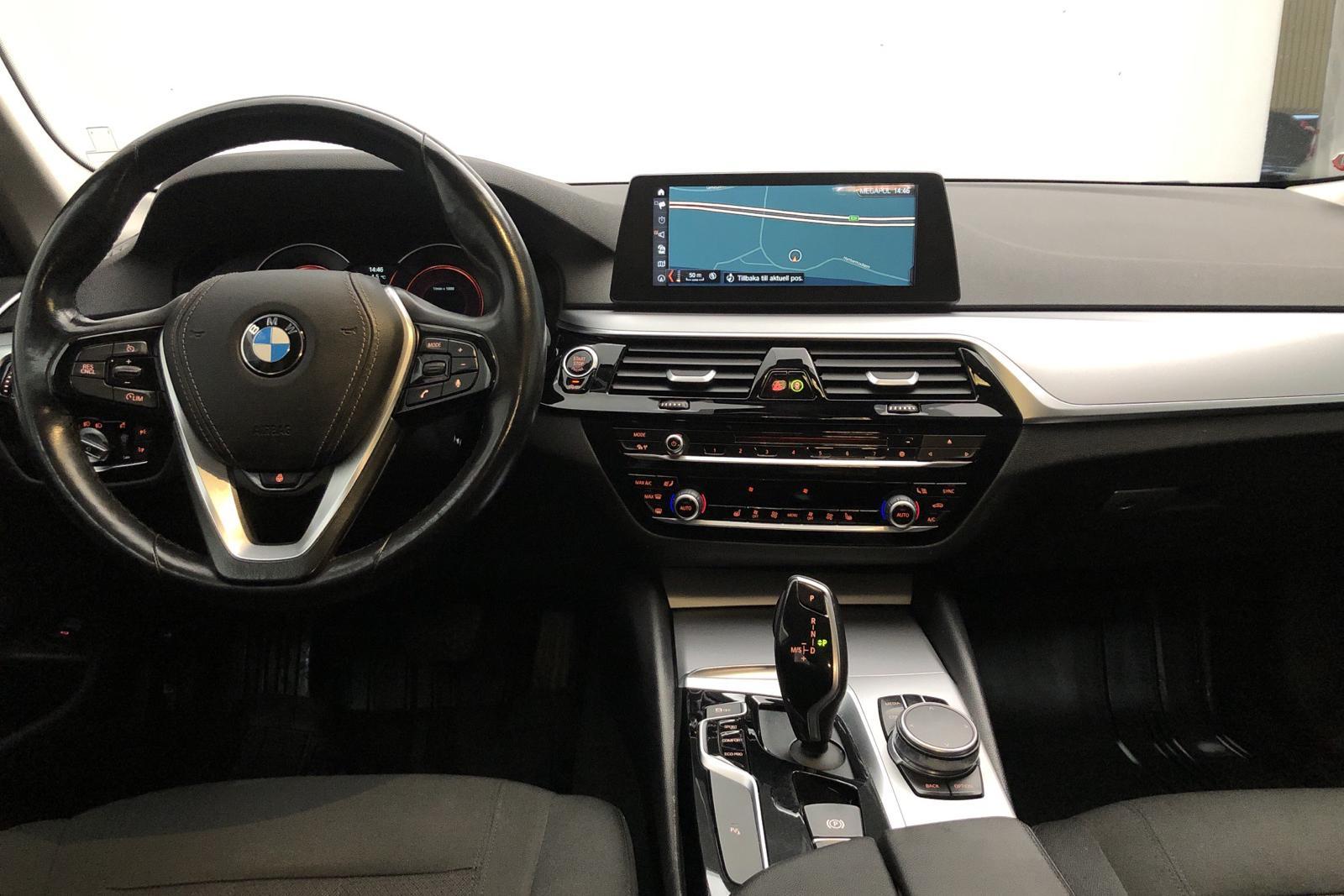 BMW 520d xDrive Touring, G31 (190hk) - 118 290 km - Automatic - blue - 2018