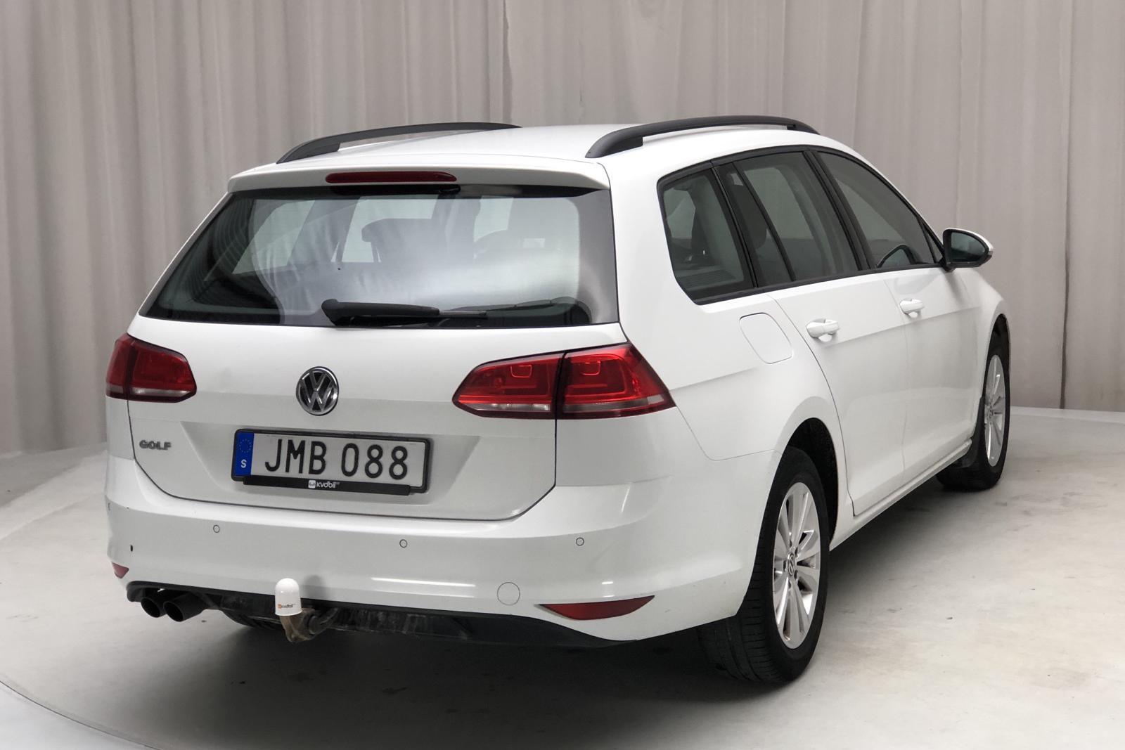 VW Golf VII 1.4 TSI Multifuel Sportscombi (125hk) - 0 mil - Manuell - vit - 2015