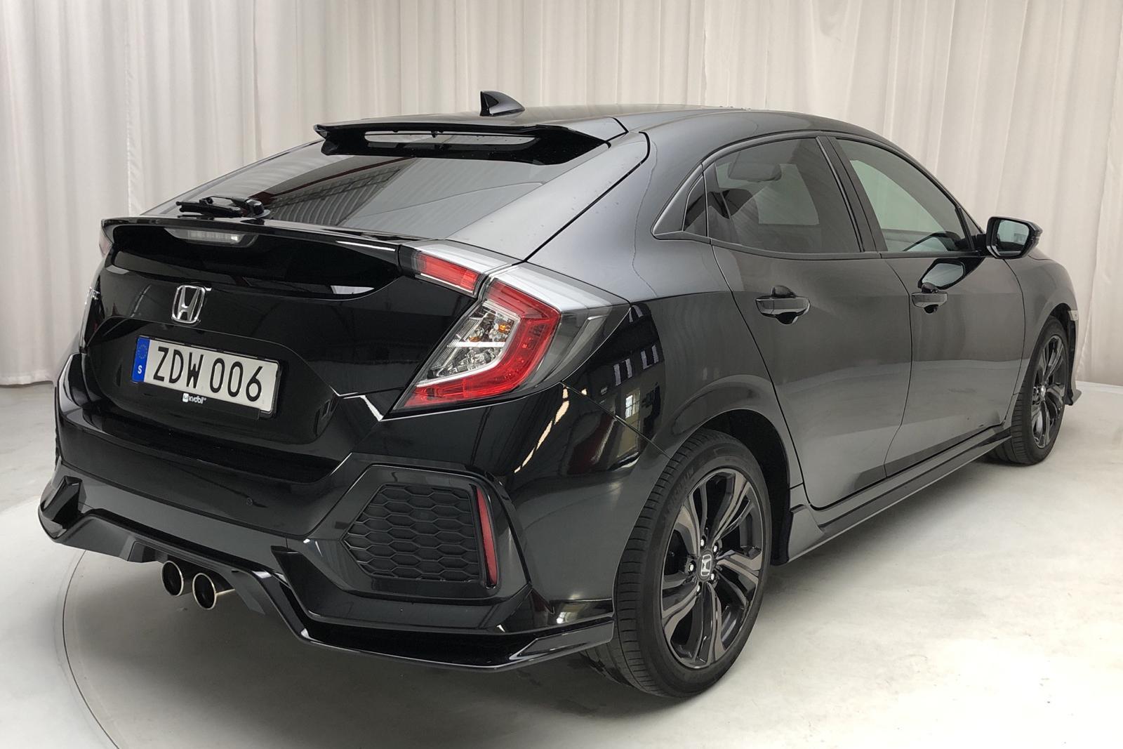 Honda Civic 1.5 i-VTEC 5dr (182hk) - 0 km - Manual - black - 2017