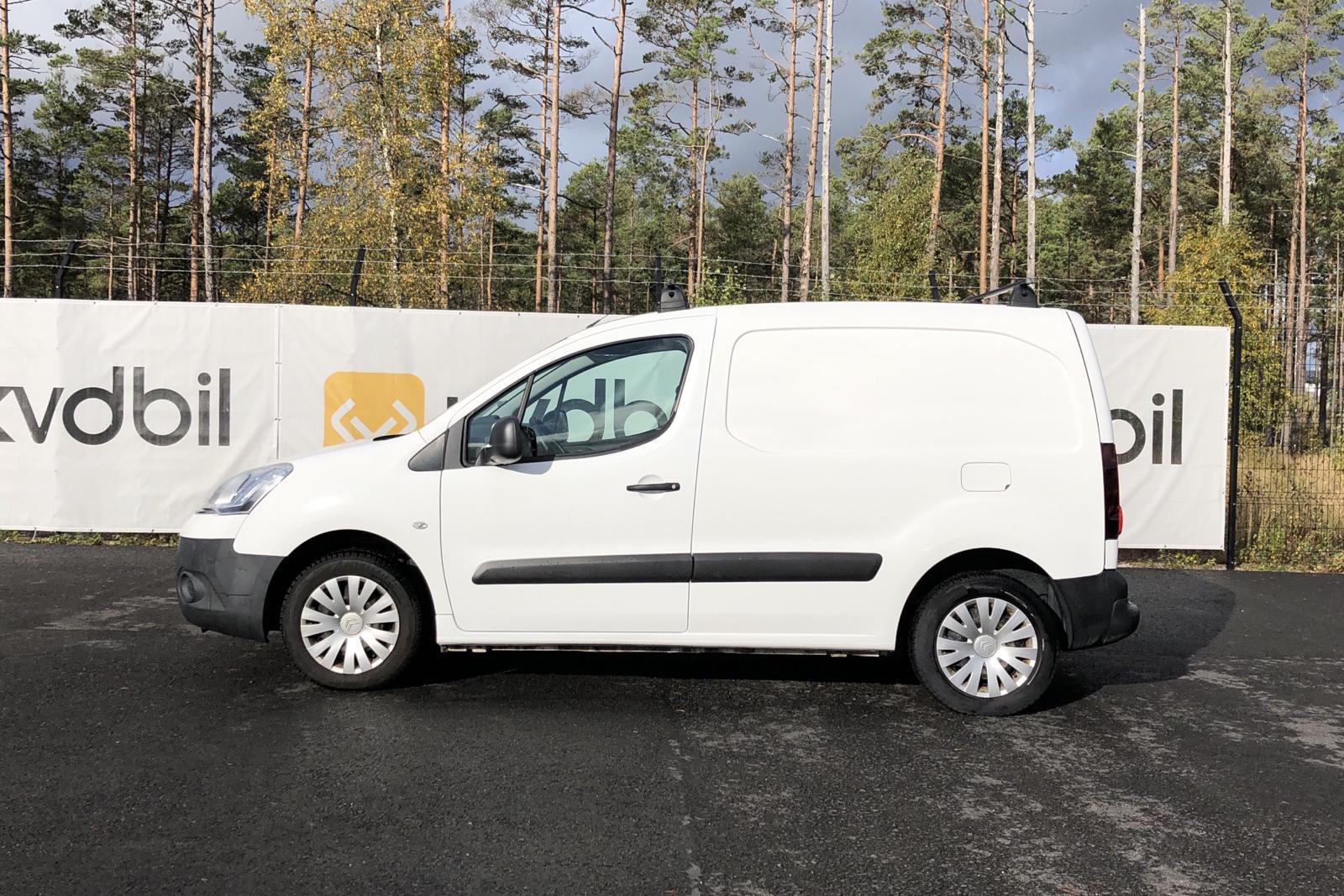 Citroen Berlingo III 1.6 HDi Skåp (75hk) - 0 mil - Manuell - vit - 2014