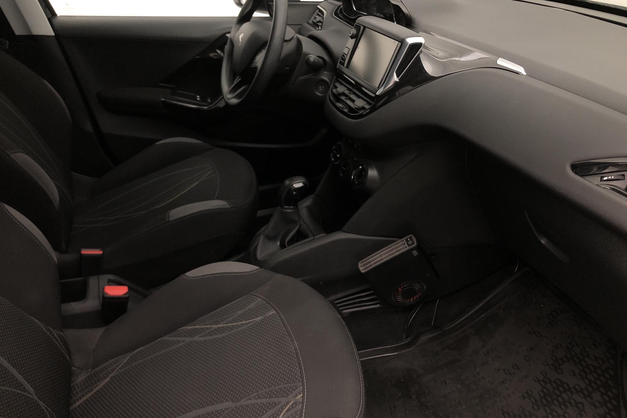 Peugeot 208 1.2 VTi 5dr (82hk) - 38 000 km - Manual - black - 2015