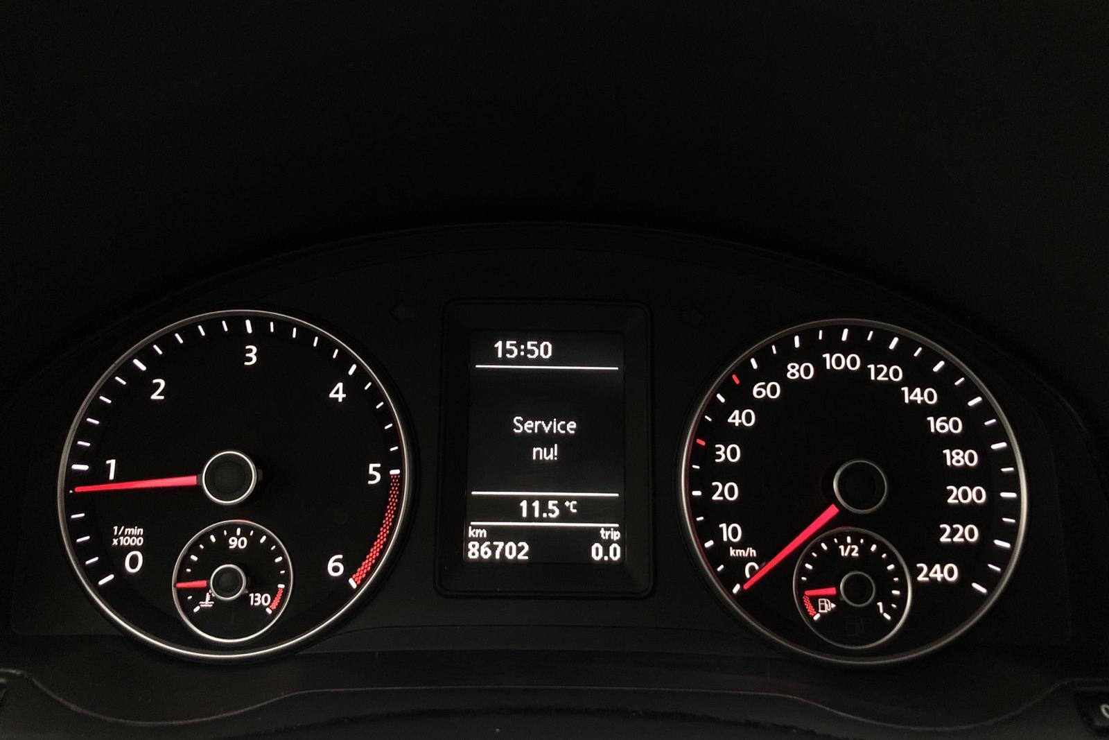 VW Golf VI 1.6 TDI BlueMotion Technology Plus (105hk) - 8 587 mil - Manuell - svart - 2012