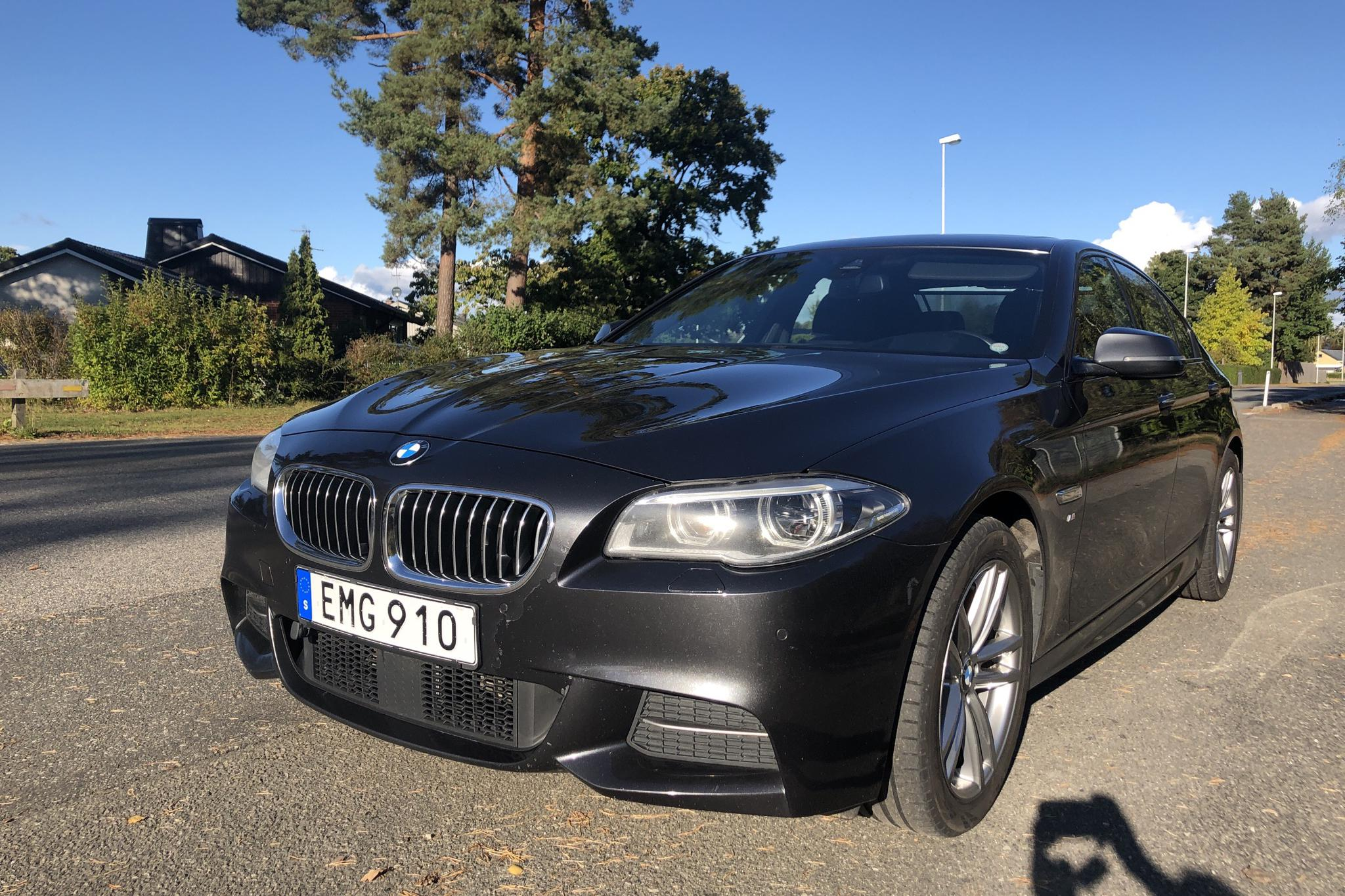 BMW 535d xDrive Sedan, F11 (313hk) - 125 240 km - Automatic - gray - 2015