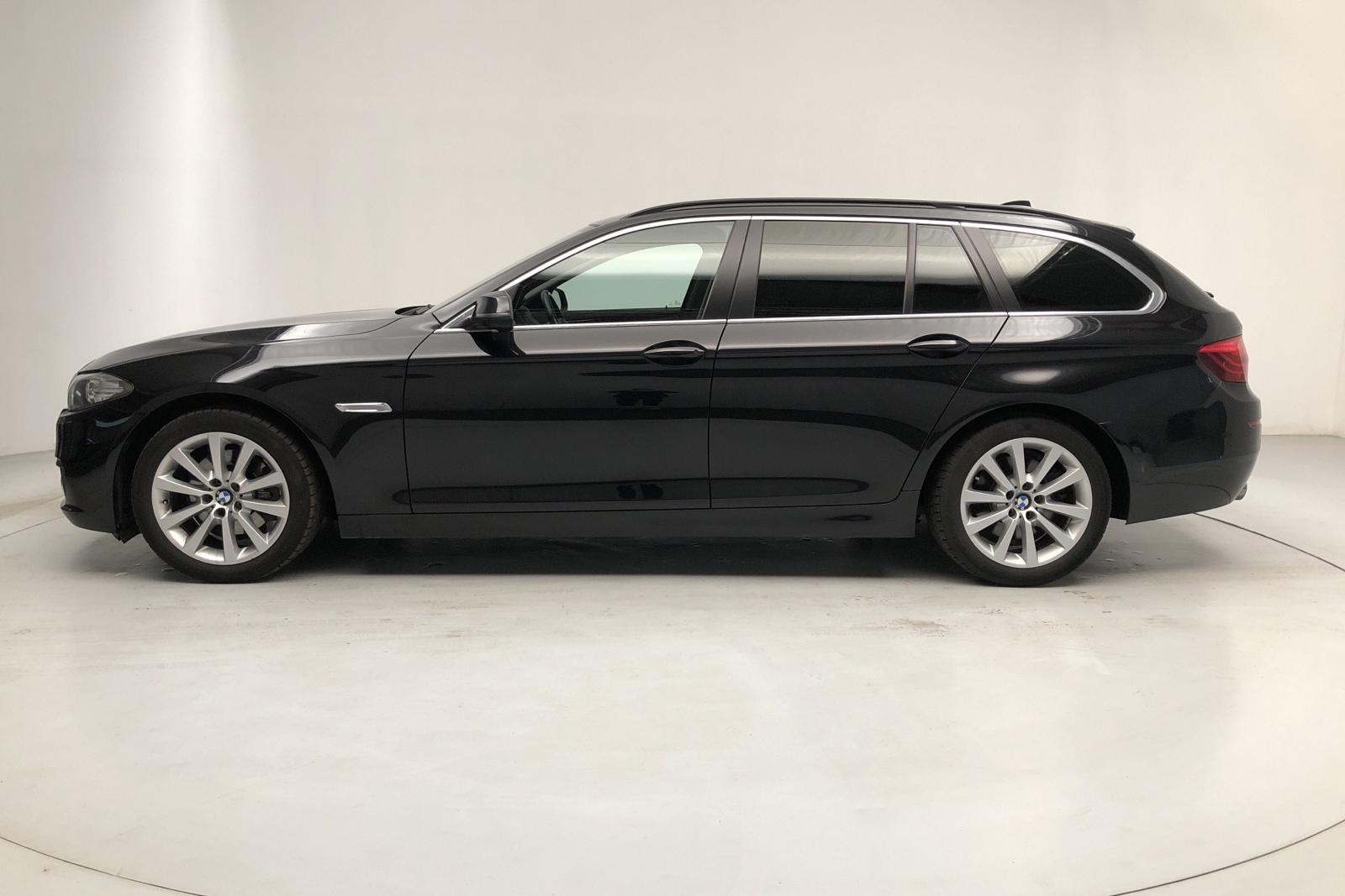 BMW 520d Touring, F11 (190hk) - 6 500 mil - Automat - svart - 2016