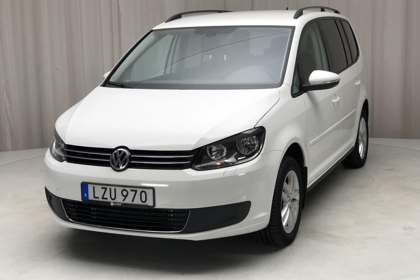 VW Touran 1.4 TGI EcoFuel (150hk) - 55 432 km - Manual - white - 2015