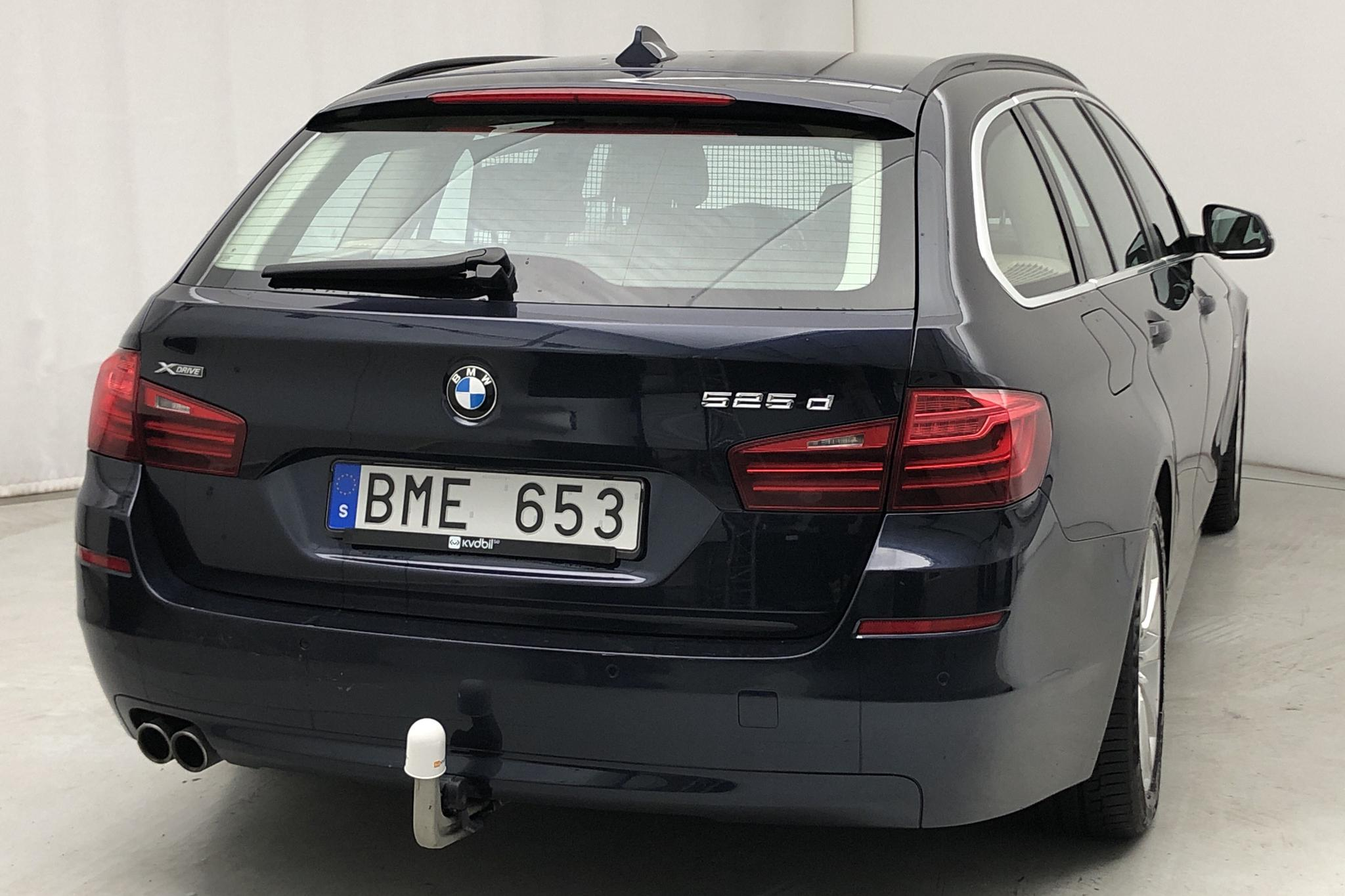 BMW 525d xDrive Touring, F11 (218hk) - 14 000 mil - Automat - blå - 2014
