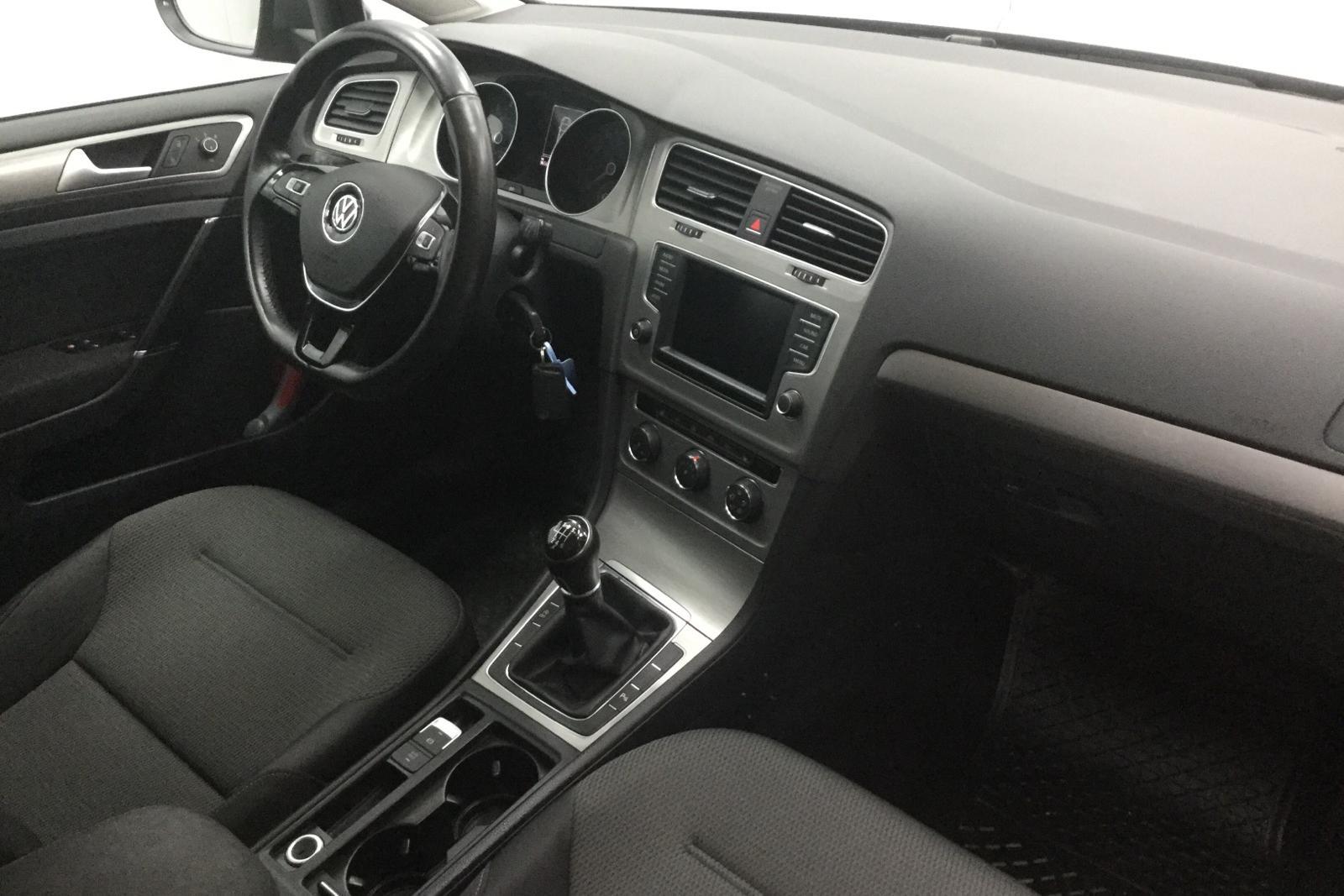 VW Golf VII 1.4 TSI Multifuel 5dr (125hk) - 0 mil - Manuell - grå - 2016