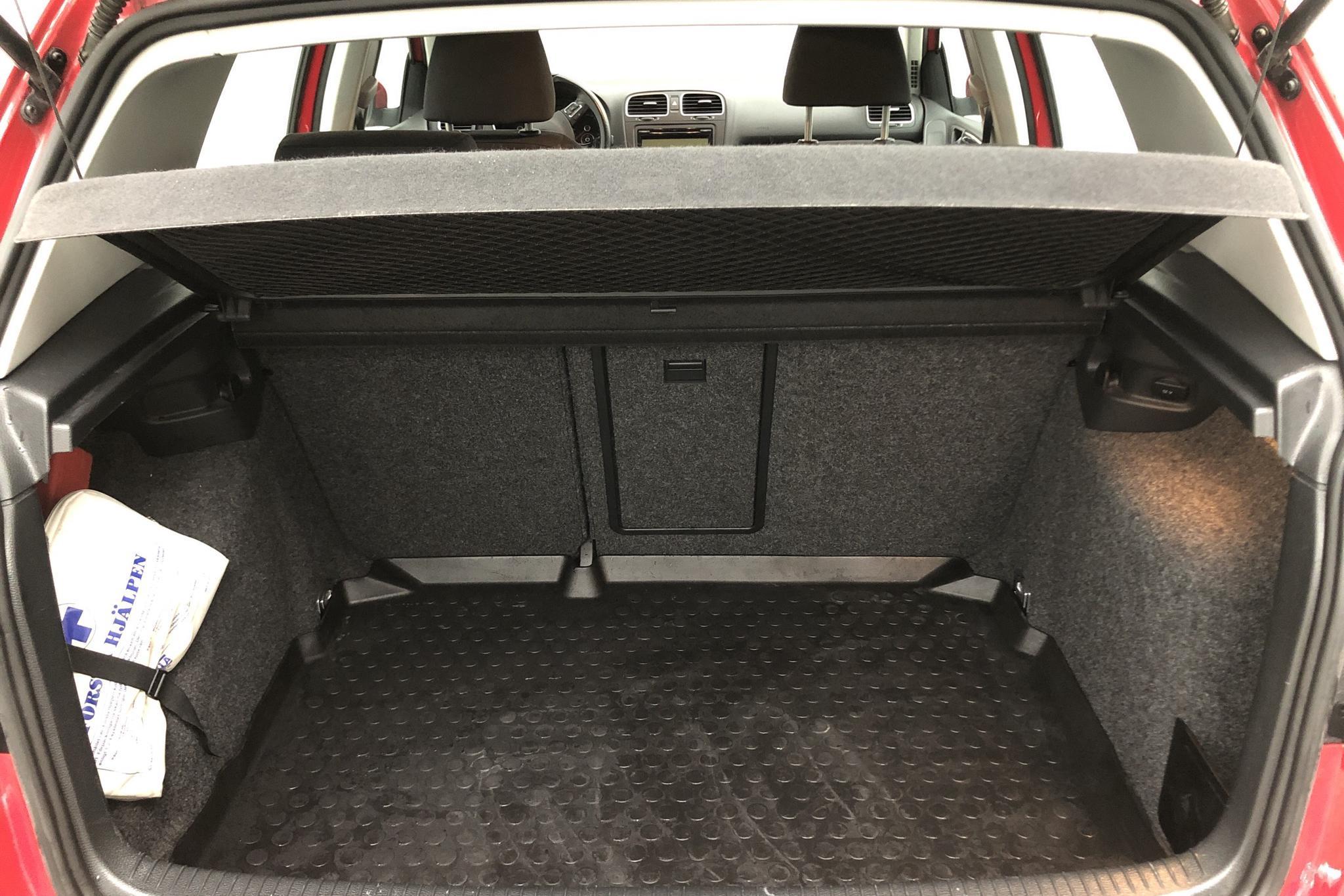 VW Golf VI 1.4 TSI 5dr (122hk) - 6 500 mil - Manuell - röd - 2009