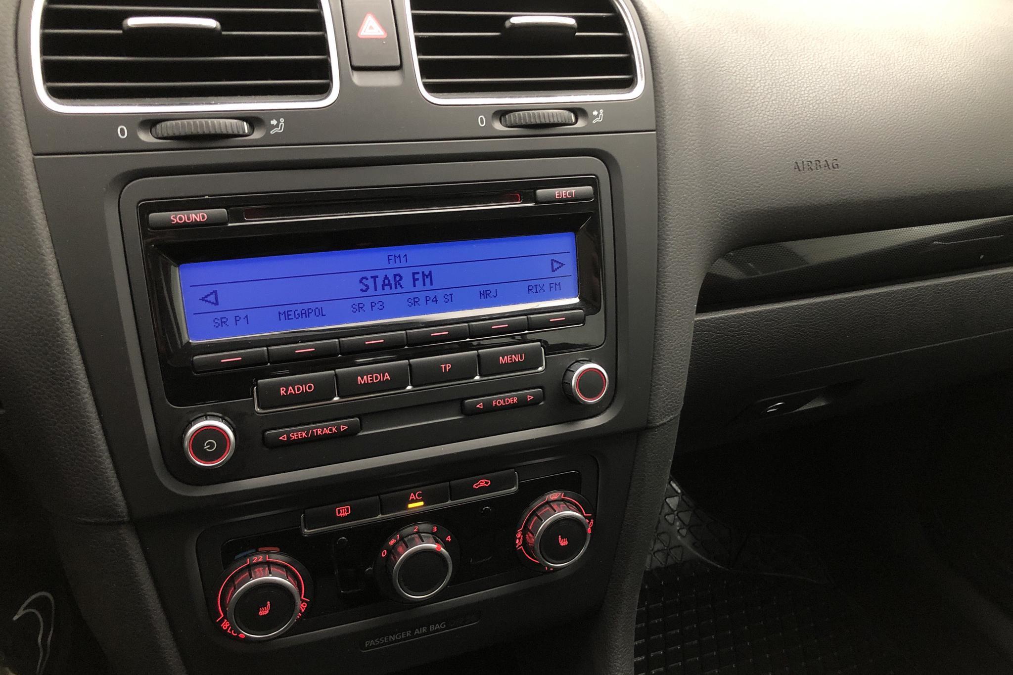 VW Golf VI 1.4 TSI 5dr (122hk) - 65 000 km - Manual - red - 2009