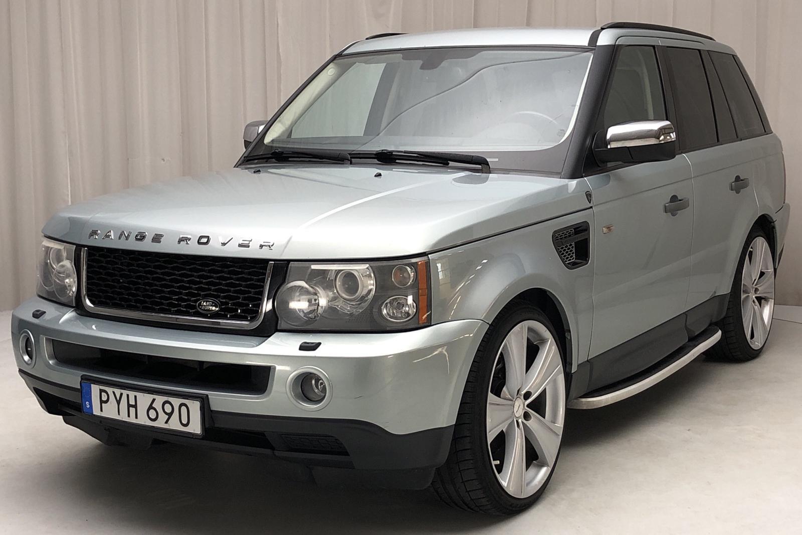 Land Rover Range Rover Sport TDV6 (190hk) - 19 827 mil - Automat - grön - 2008