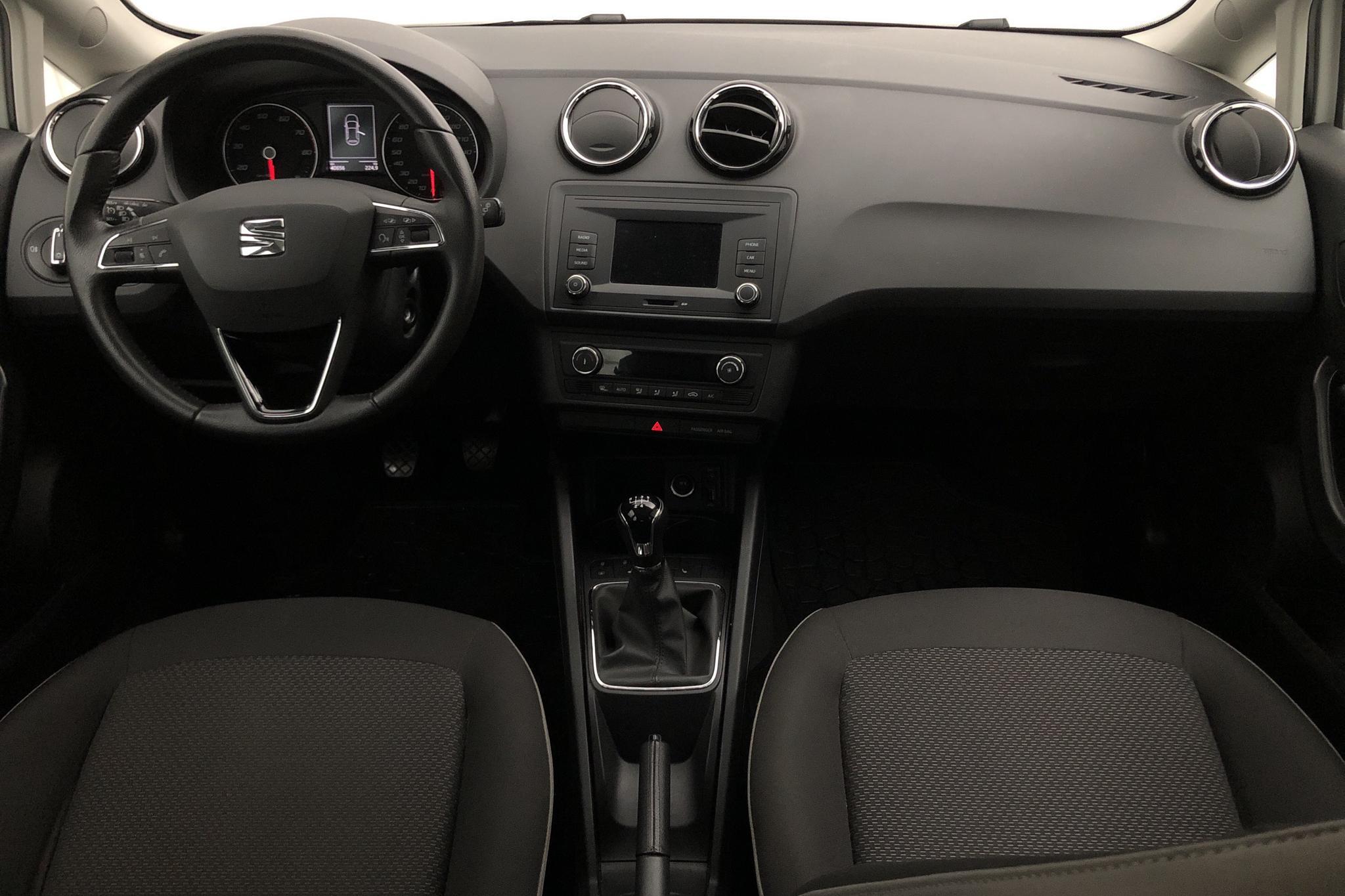 Seat Ibiza 1.2 TSI 5dr (90hk) - 40 600 km - Manual - white - 2017