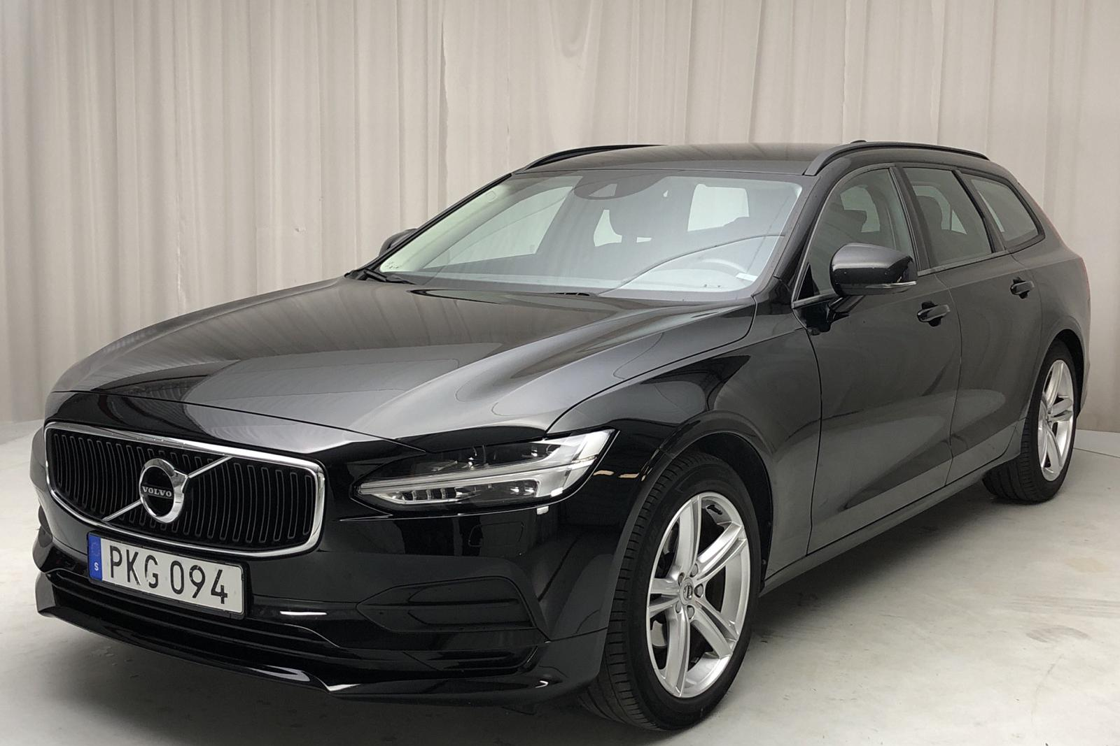Volvo V90 D3 (150hk) - 84 868 km - Manual - black - 2018
