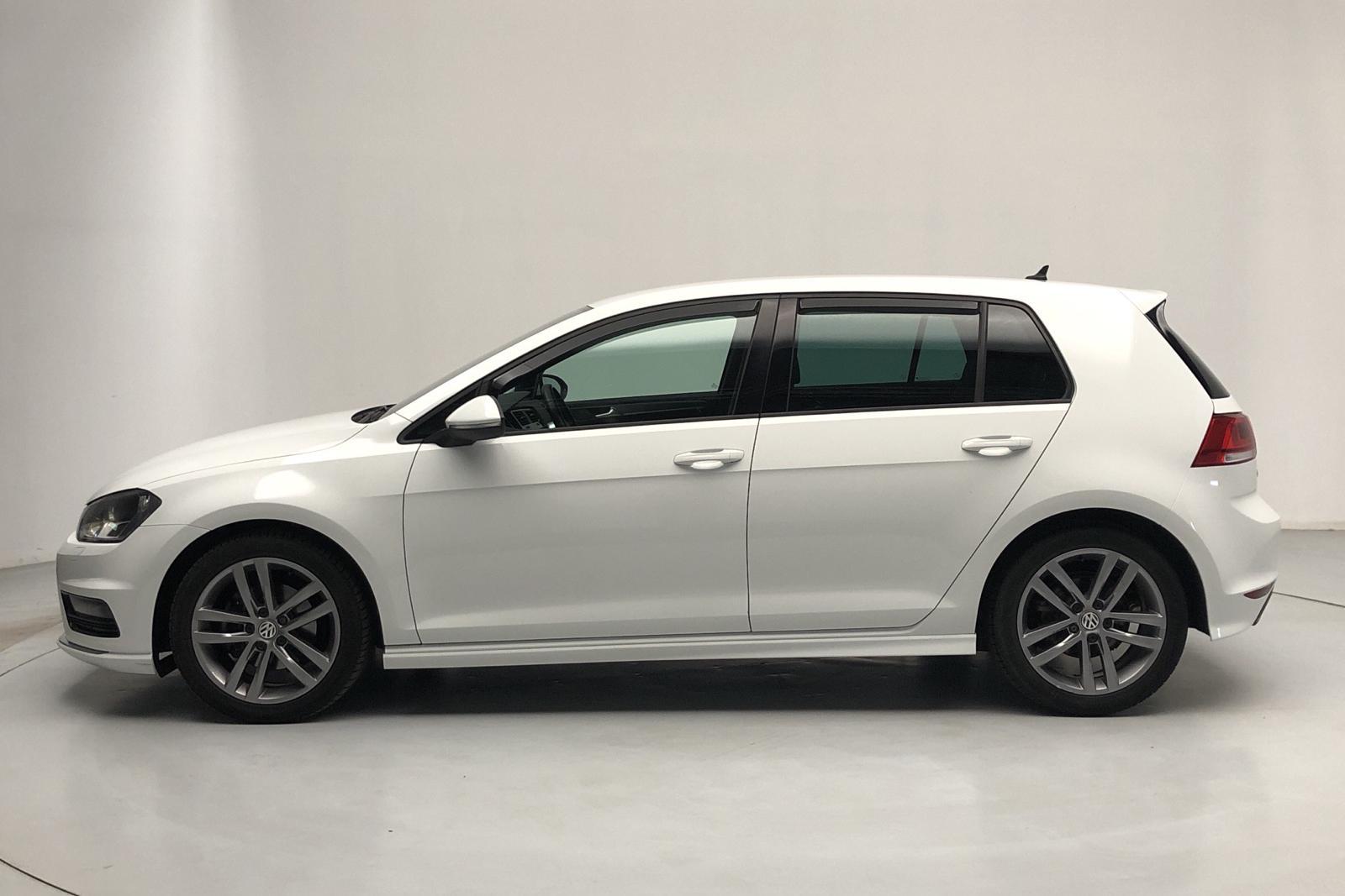 VW Golf VII 1.4 TSI 5dr (150hk) - 5 300 mil - Manuell - vit - 2017