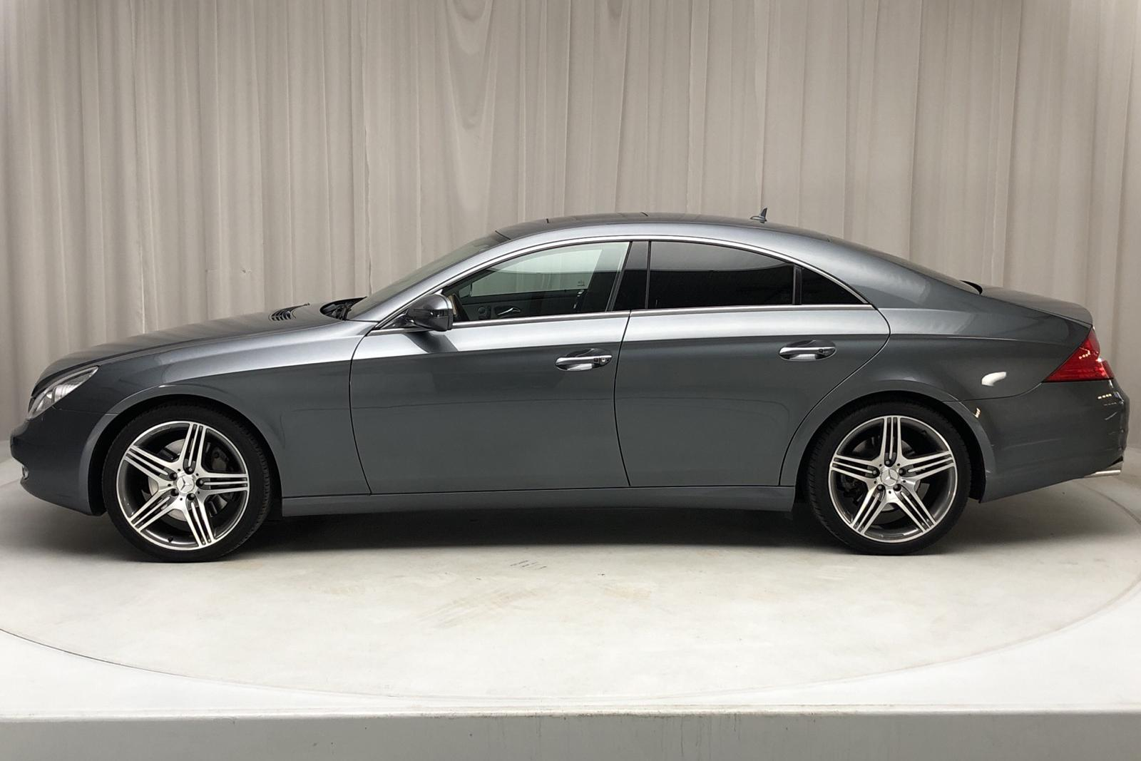Mercedes CLS 500 (388hk) - 87 000 km - Automatic - Dark Grey - 2008
