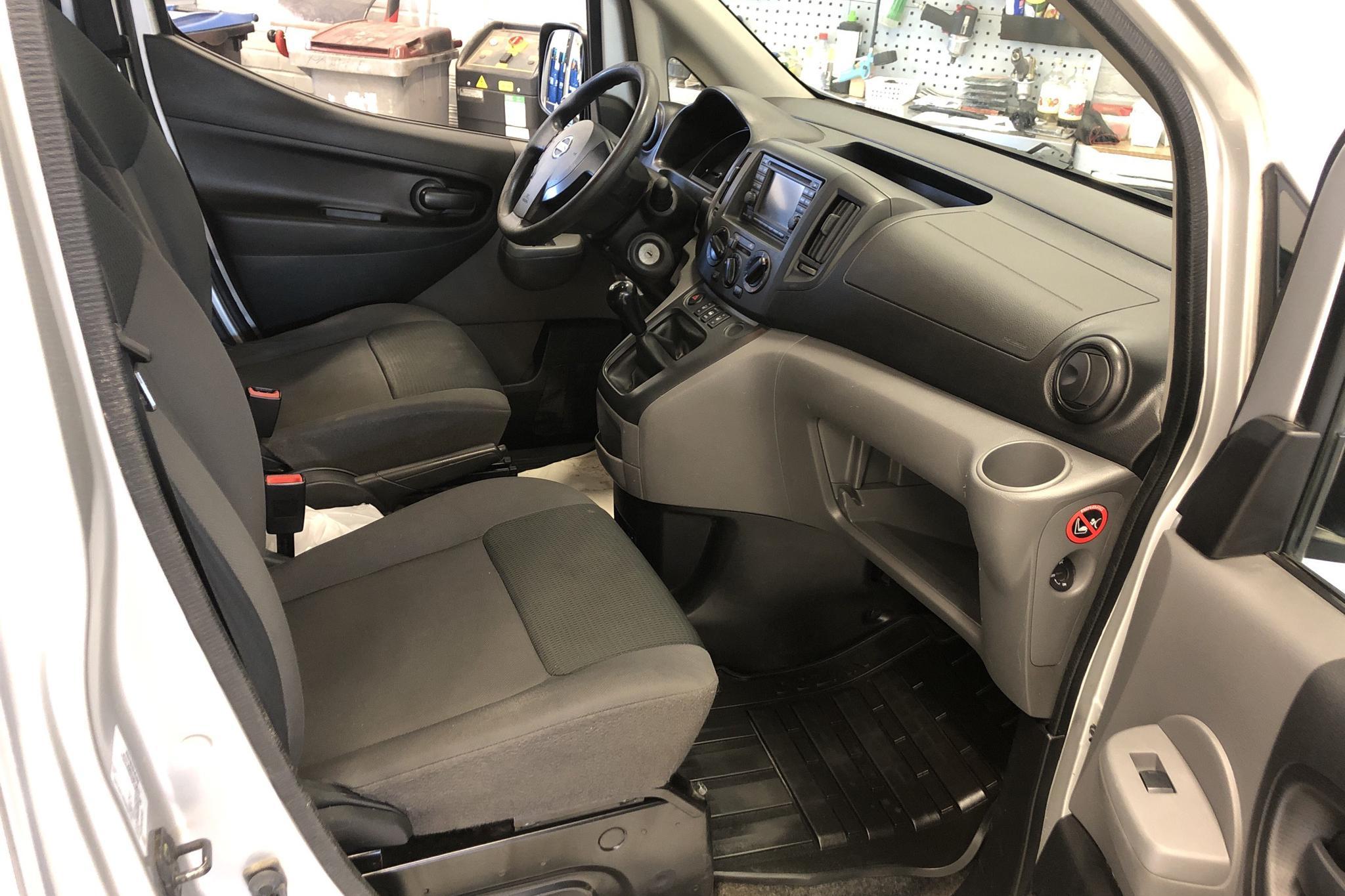 Nissan NV200 1.5 dCi Skåp (90hk) - 0 mil - Manuell - silver - 2014