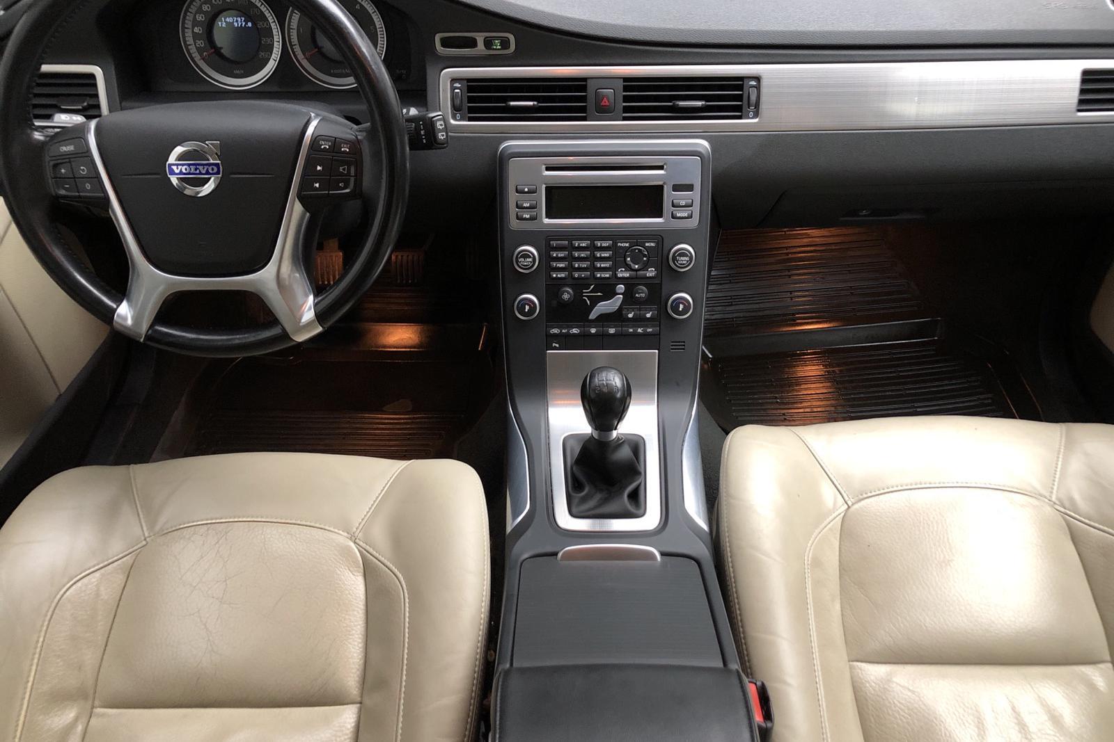 Volvo V70 II 1.6D DRIVe (109hk) - 14 069 mil - Manuell - svart - 2011
