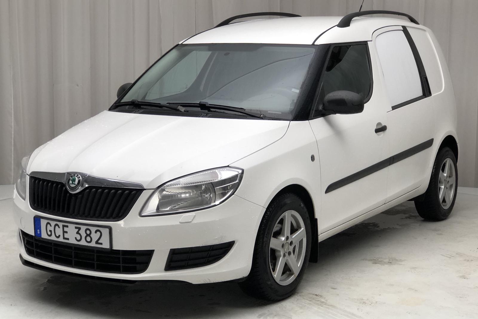Skoda Praktik 1.2 TSI (86hk) - 226 216 km - Manual - white - 2011