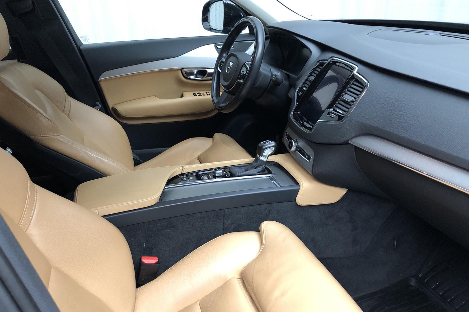 Volvo XC90 D5 AWD (225hk) - 96 000 km - Automatic - black - 2016