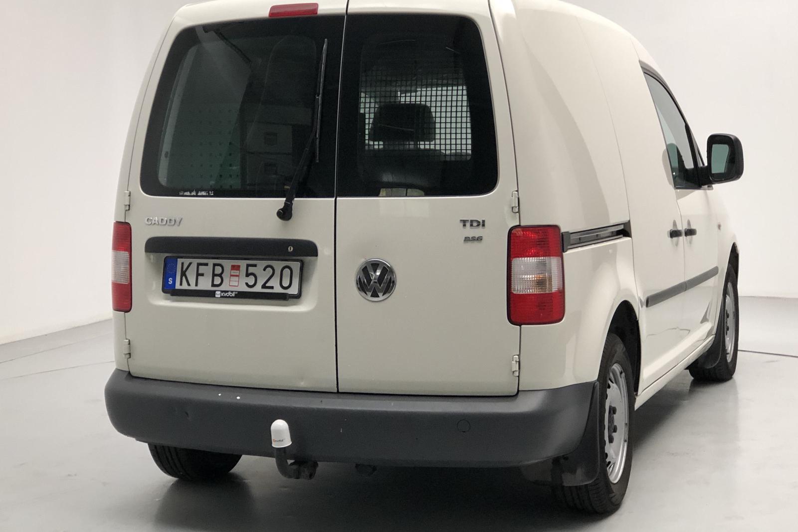 VW Caddy 1.9 TDI Skåp (105hk) - 0 km - Automatic - white - 2010