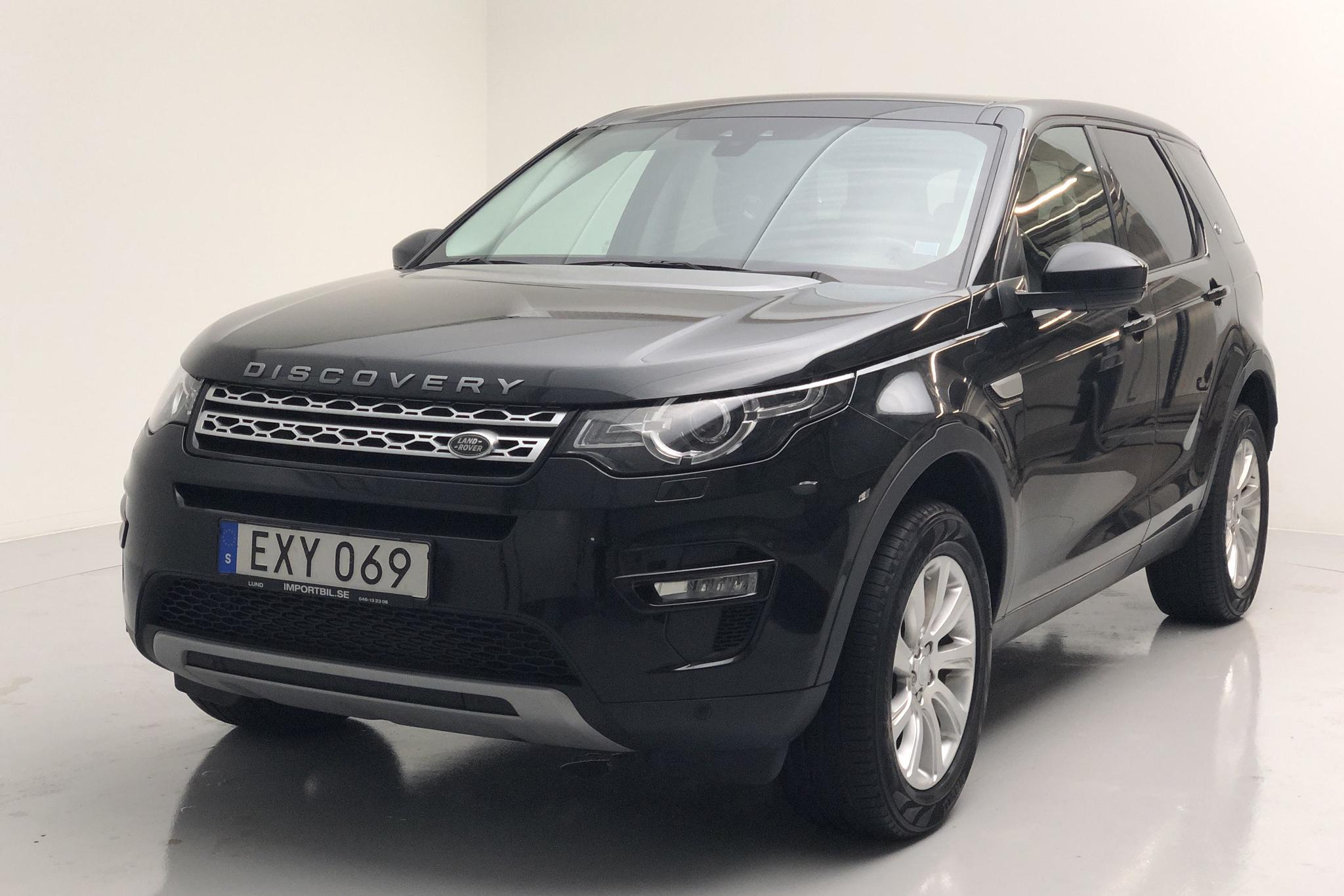 Land Rover Discovery Sport 2.2 SD4 HSE  (150hk) - 13 600 mil - Manuell - svart - 2015