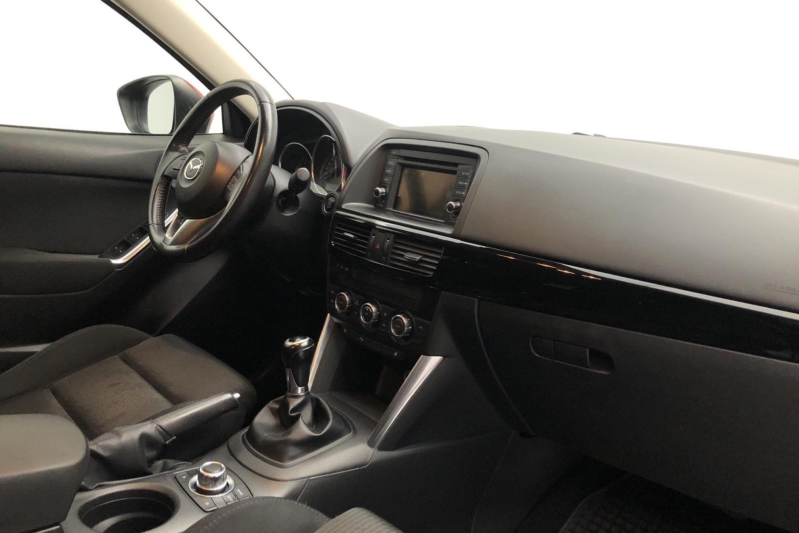 Mazda CX-5 2.2 DE AWD (150hk) - 14 400 mil - Manuell - röd - 2012