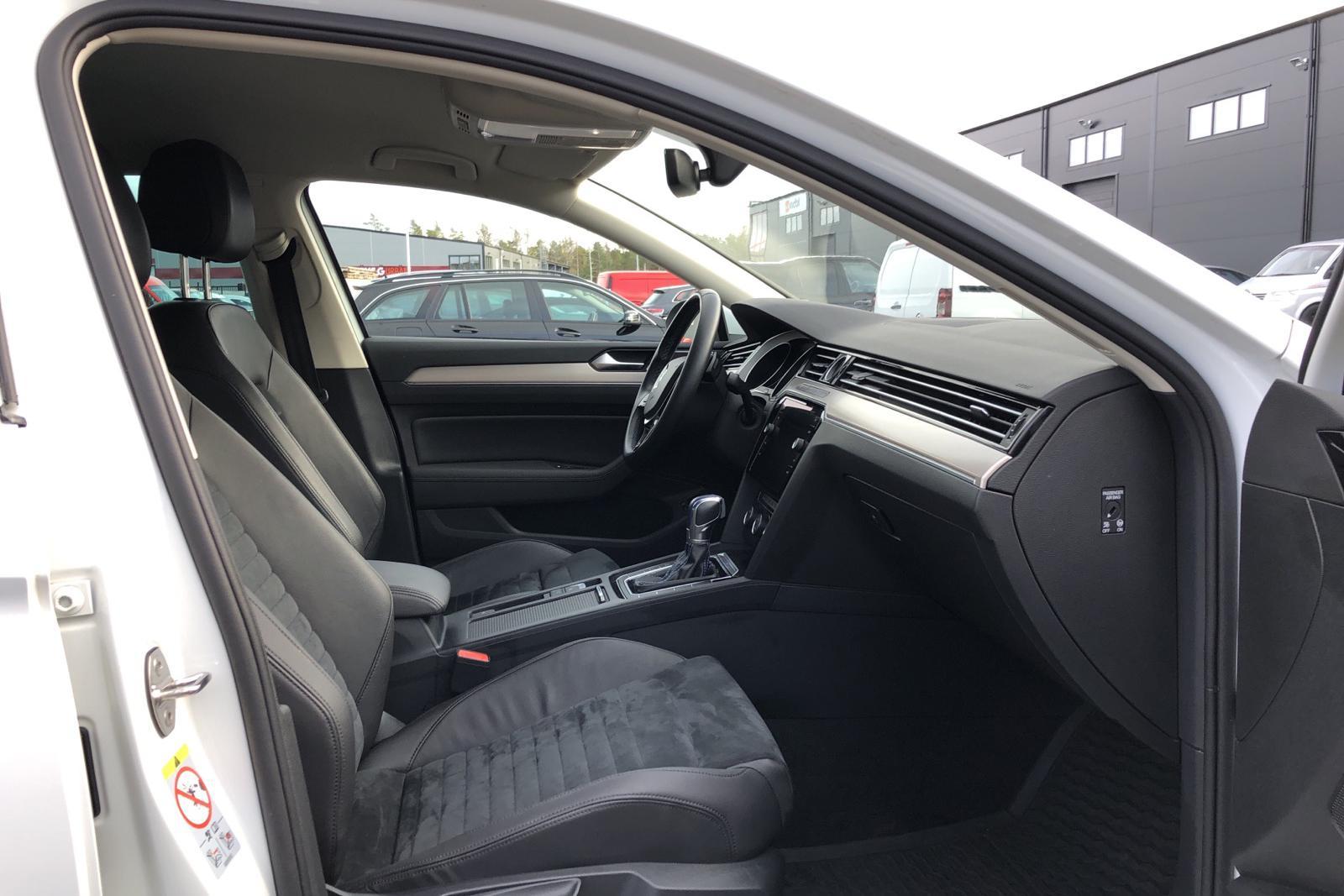 VW Passat 1.4 Plug-in-Hybrid Sportscombi  GTE (218hk) - 0 mil - Automat - vit - 2018