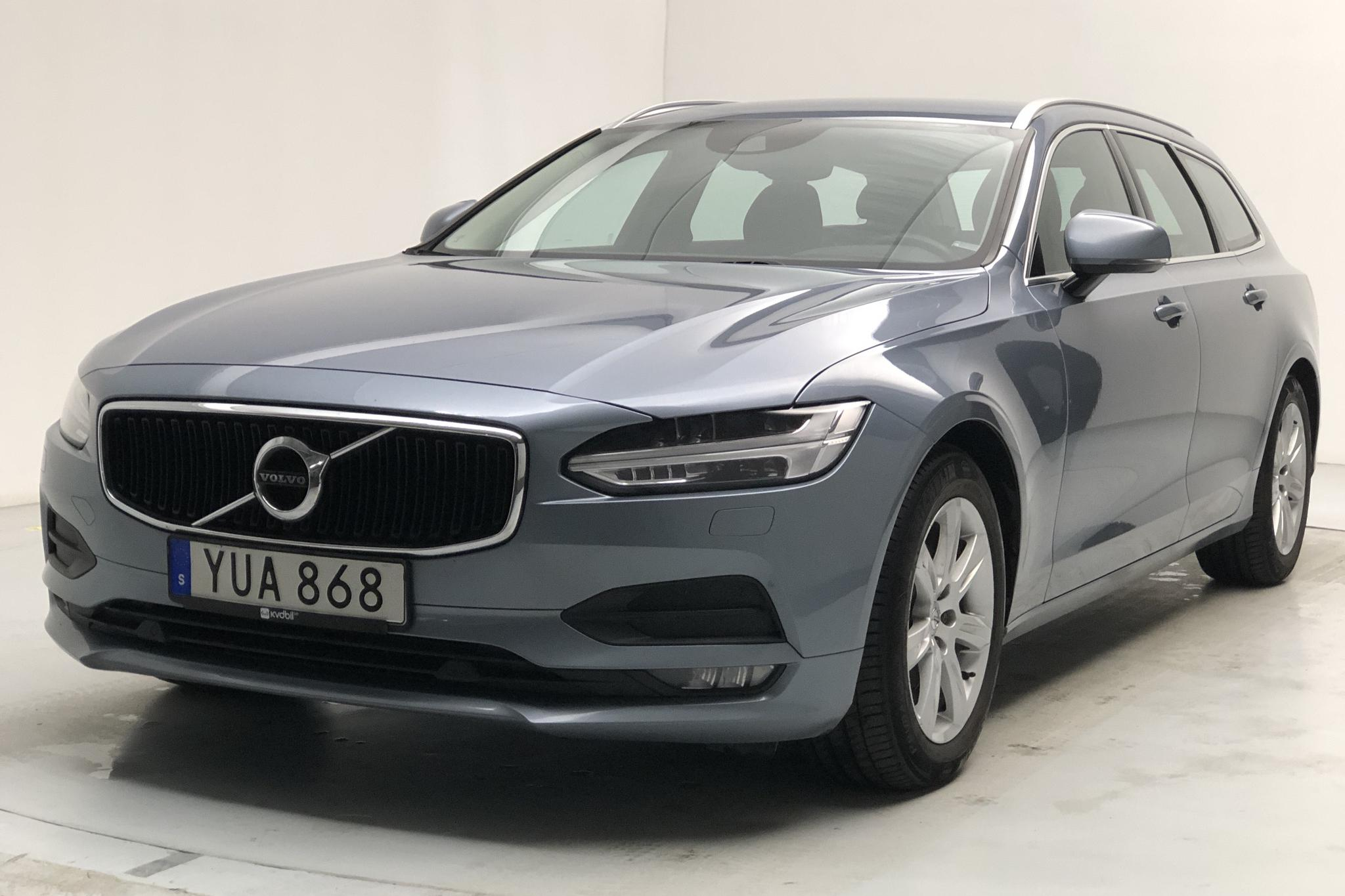 Volvo V90 D3 AWD (150hk) - 140 470 km - Automatic - Light Blue - 2018