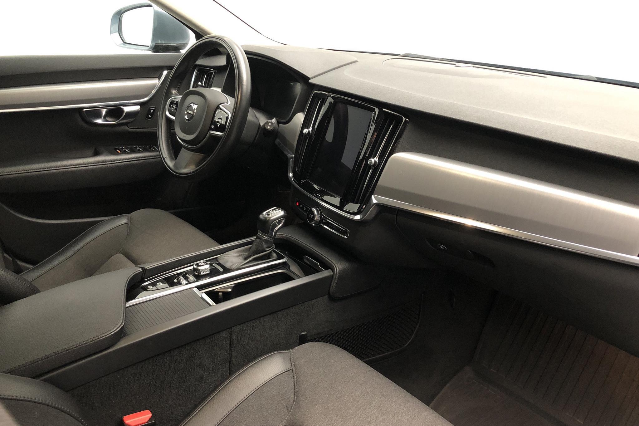 Volvo V90 D3 AWD (150hk) - 14 047 mil - Automat - Light Blue - 2018