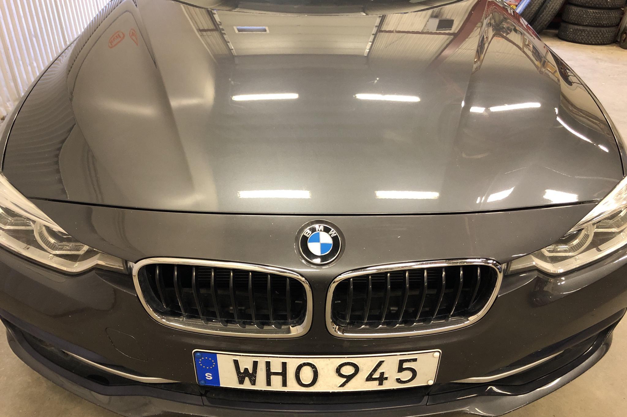BMW 320d xDrive Touring, F31 (190hk) - 4 691 mil - Automat - grå - 2018
