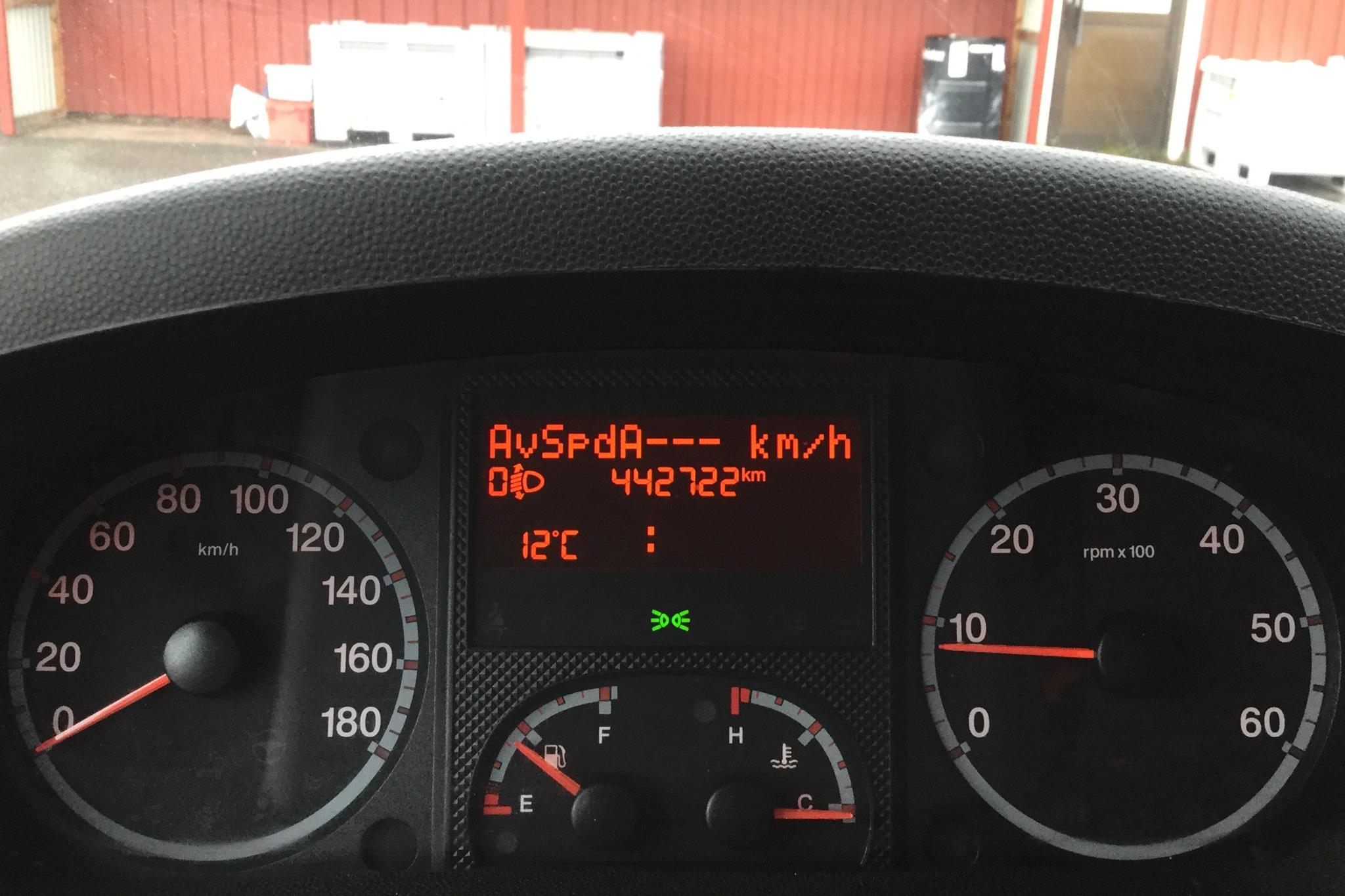Fiat Ducato 2.3 Multijet Chassi (148hk) - 44 272 mil - Manuell - vit - 2013
