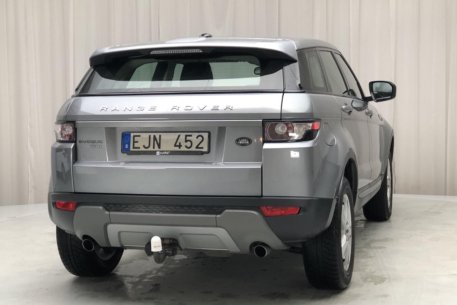 Land Rover Range Rover Evoque 2.2 SD4 5dr (190hk) - 121 100 km - Automatic - gray - 2012
