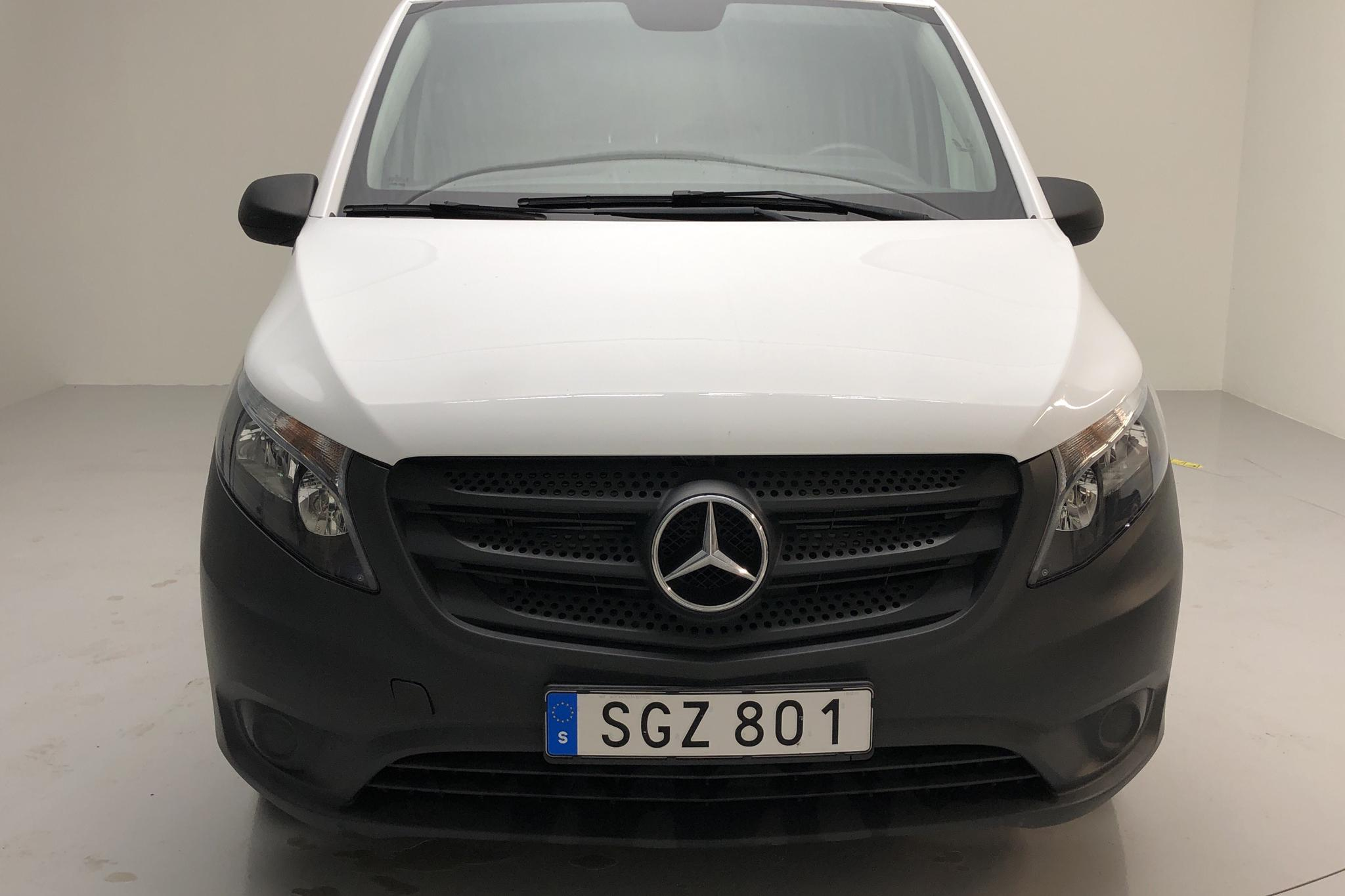 Mercedes Vito 111 CDI W640 (114hk) - 34 410 km - Manual - white - 2019