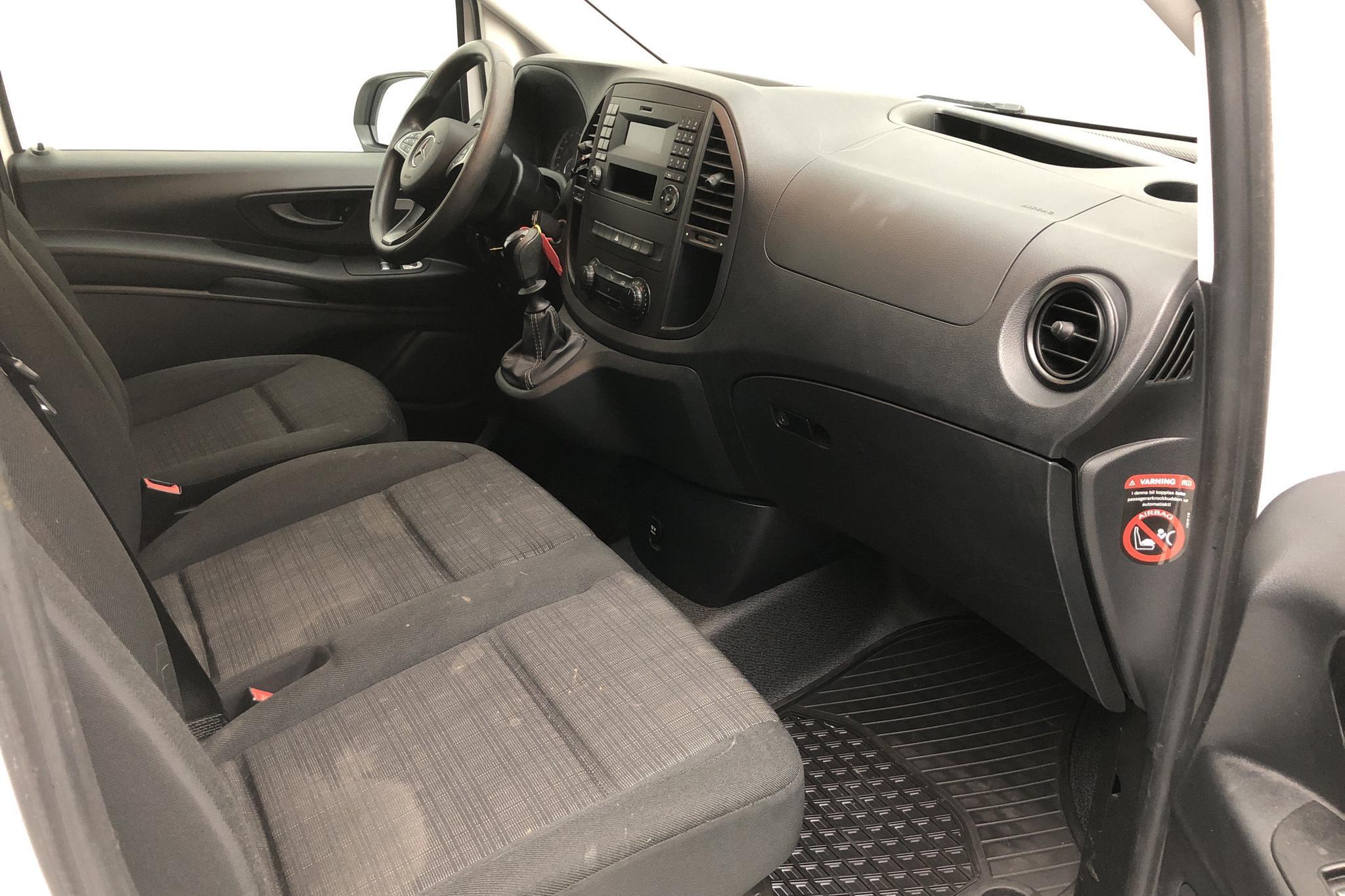 Mercedes Vito 111 CDI W640 (114hk) - 3 842 mil - Manuell - vit - 2018